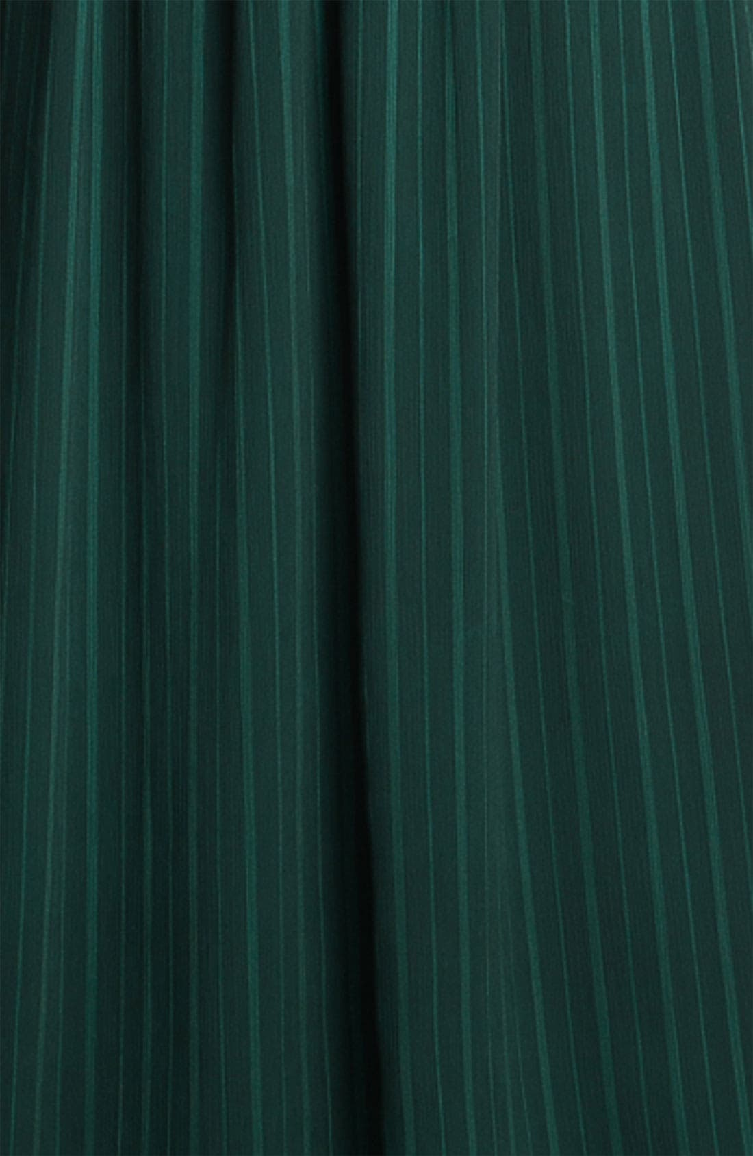 Alternate Image 3  - Max & Cleo 'Jenna' V-Neck Satin & Chiffon Gown