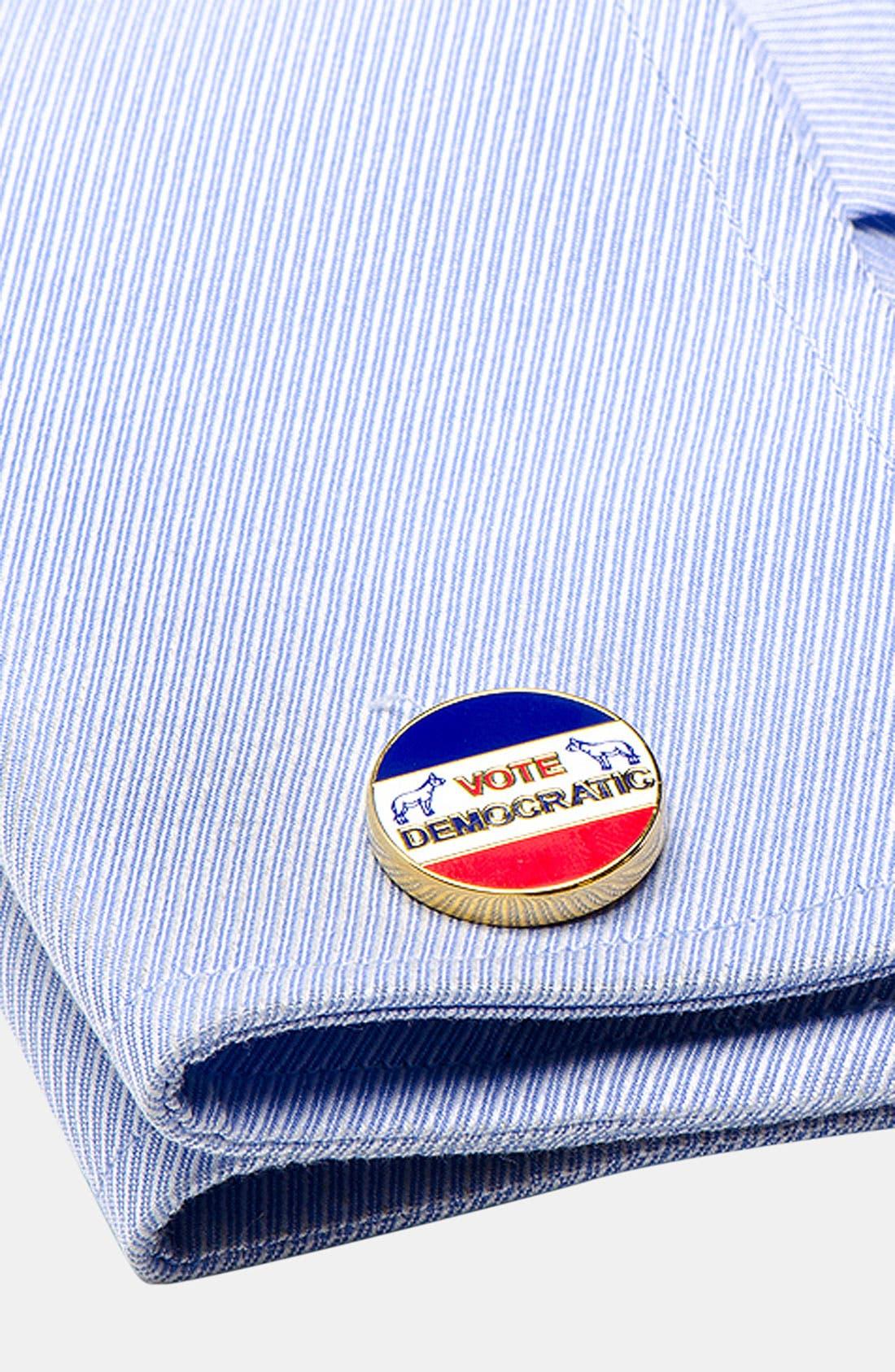 Alternate Image 2  - Cufflinks, Inc. 'Vintage Democrat' Cuff Links
