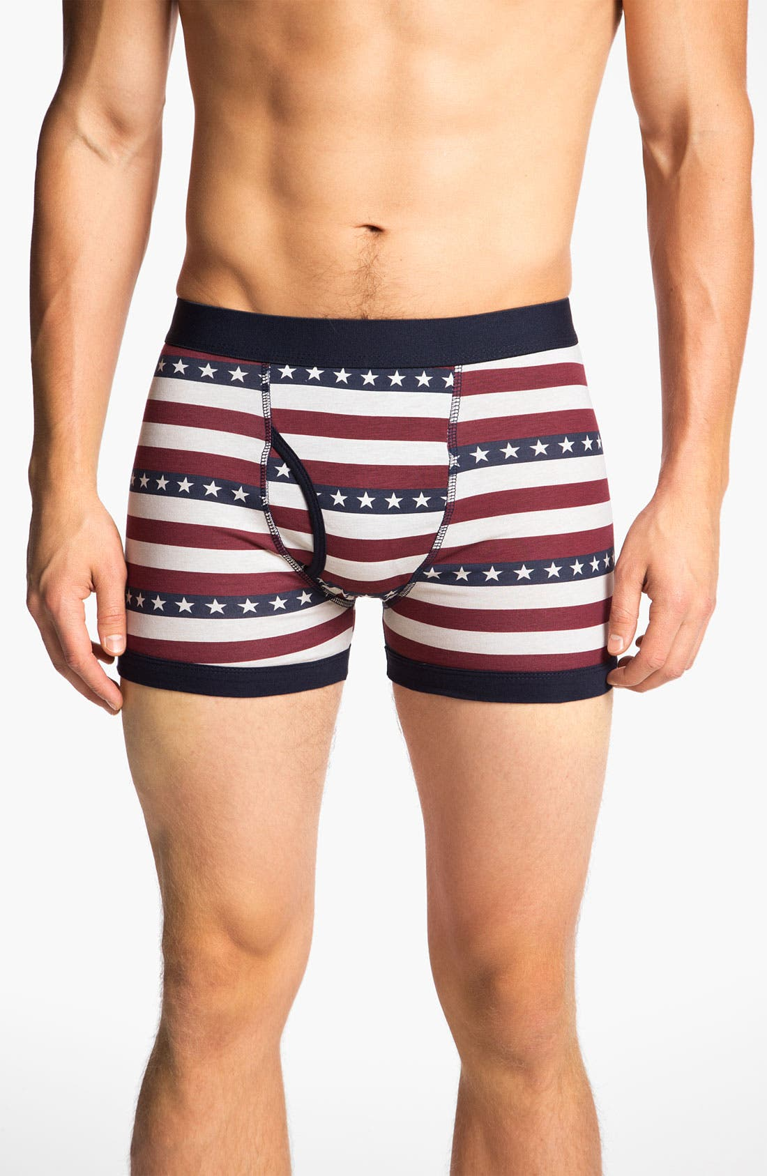 Alternate Image 2  - Topman 'The Americas' Boxer Briefs (3-Pack)