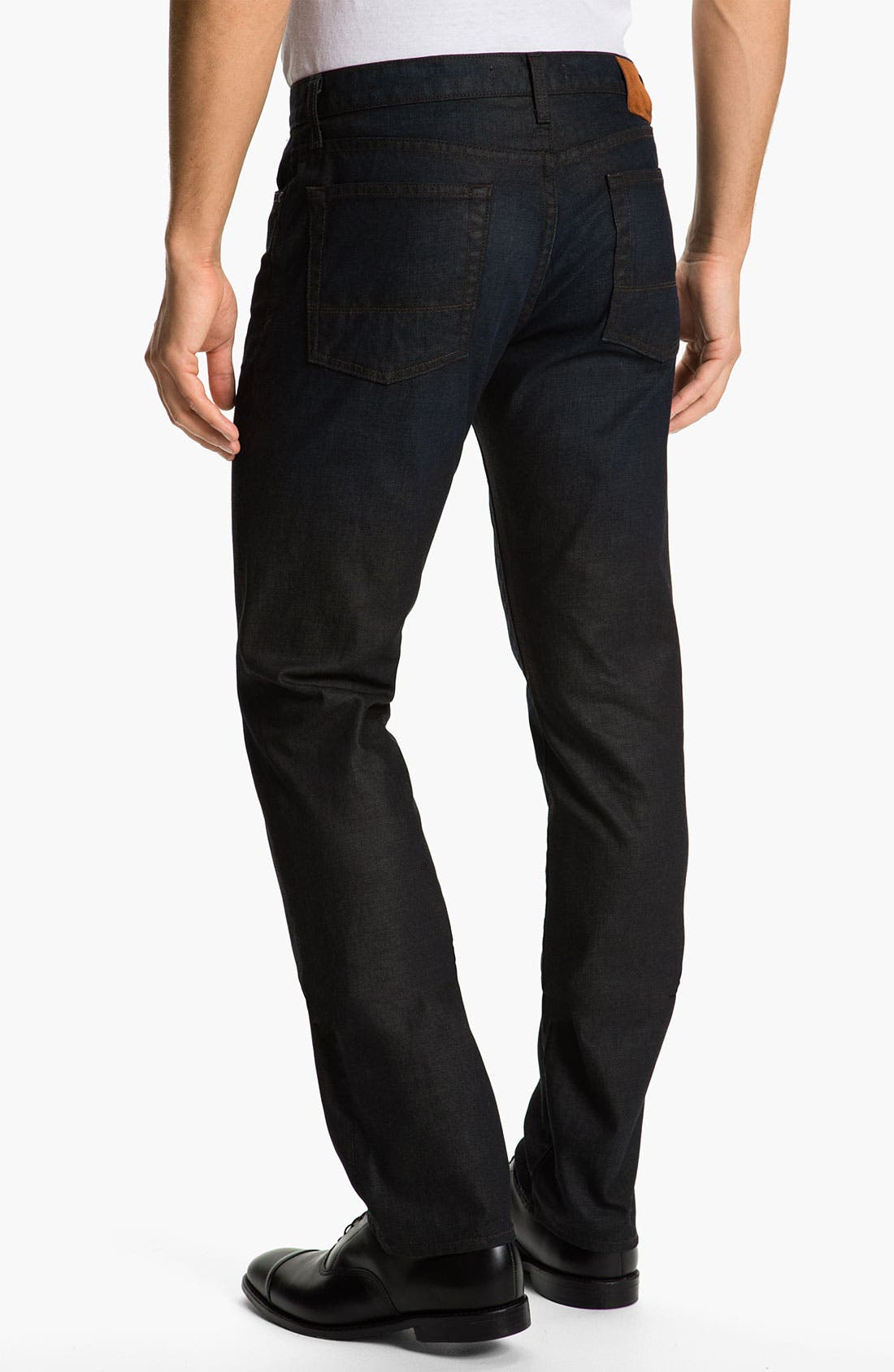 Alternate Image 1 Selected - Vince Slim Straight Leg Jeans (Dark Clean)