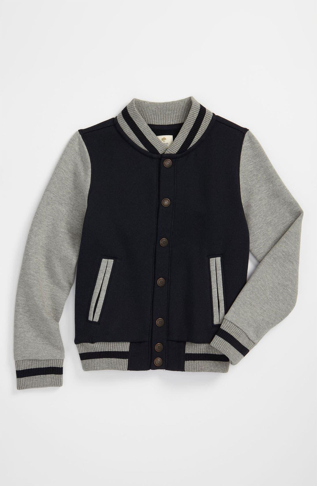 Main Image - Tucker + Tate 'Emmit' Varsity Jacket (Big Boys)