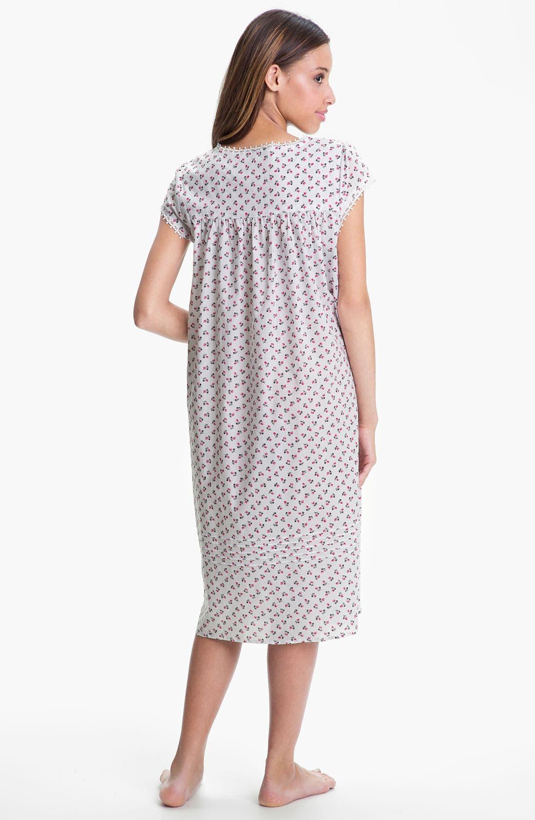 Alternate Image 2  - Eileen West 'Sparkling Ruby' Nightgown