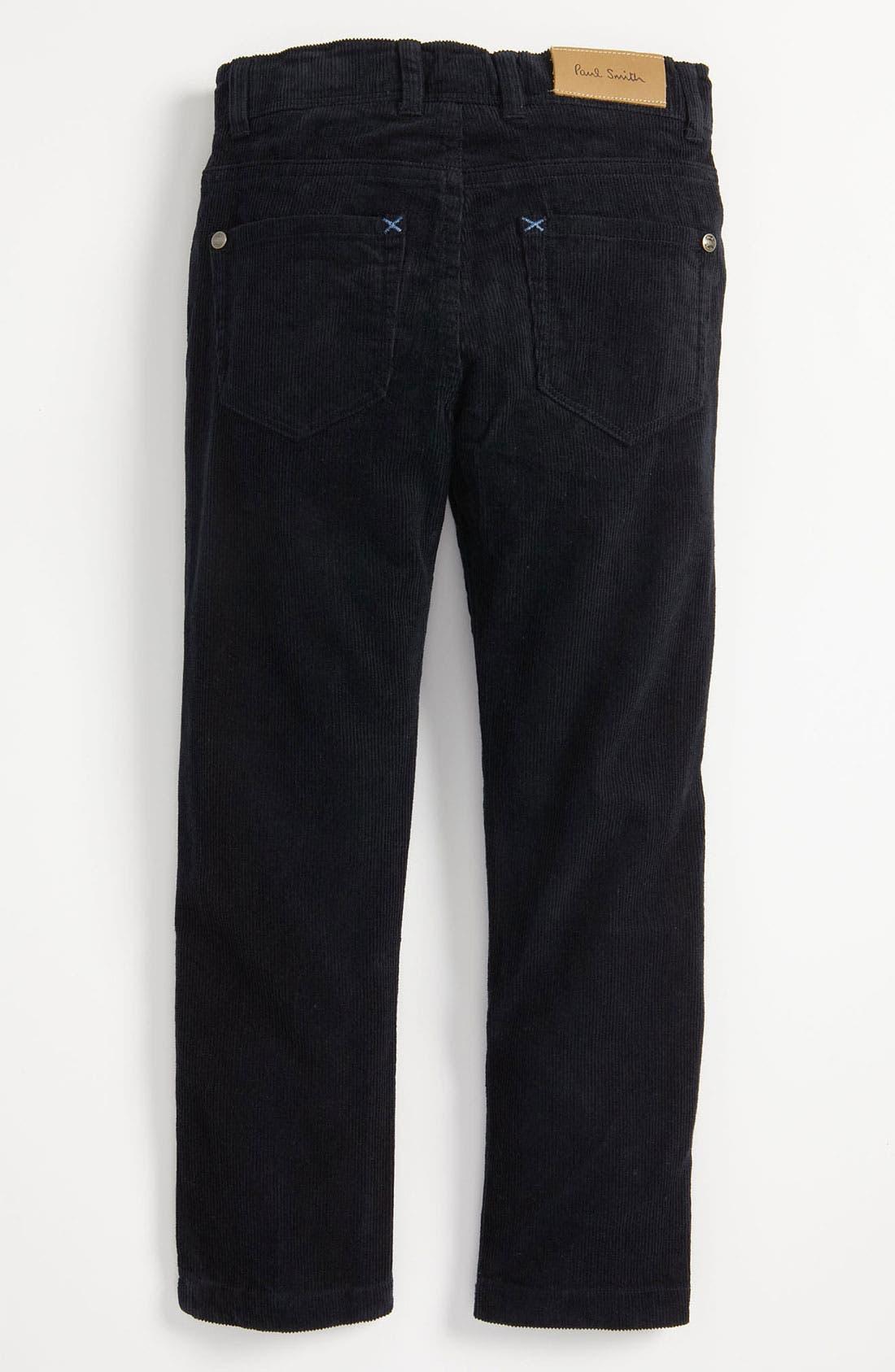 Alternate Image 1 Selected - Paul Smith Junior 'Callaghan' Straight Leg Corduroy Pants (Big Boys)