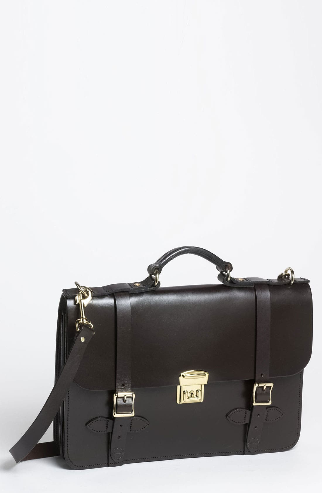 Alternate Image 1 Selected - Filson Leather Field Satchel