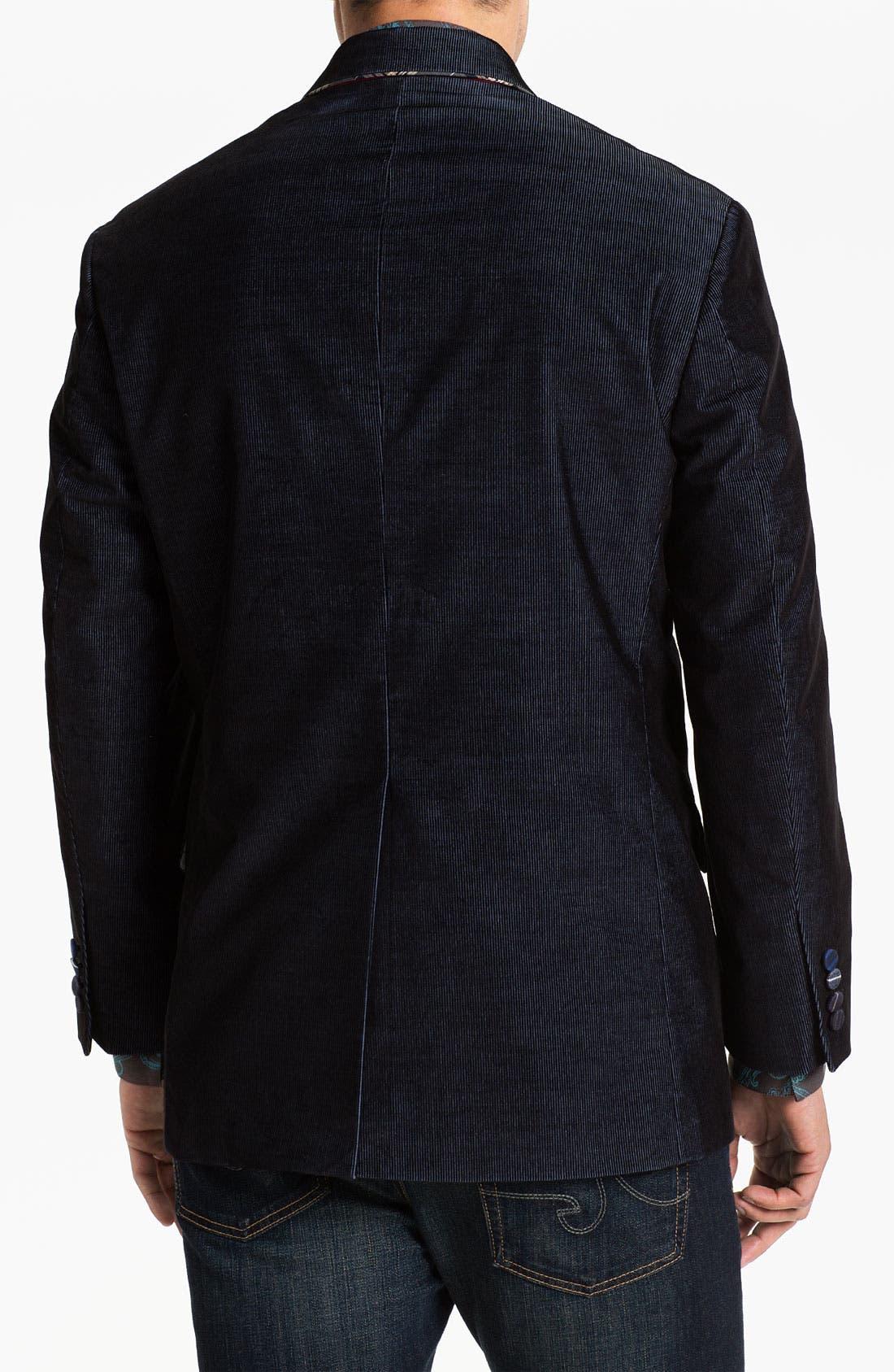 Alternate Image 2  - Robert Graham 'Lintel' Corduroy Sportcoat