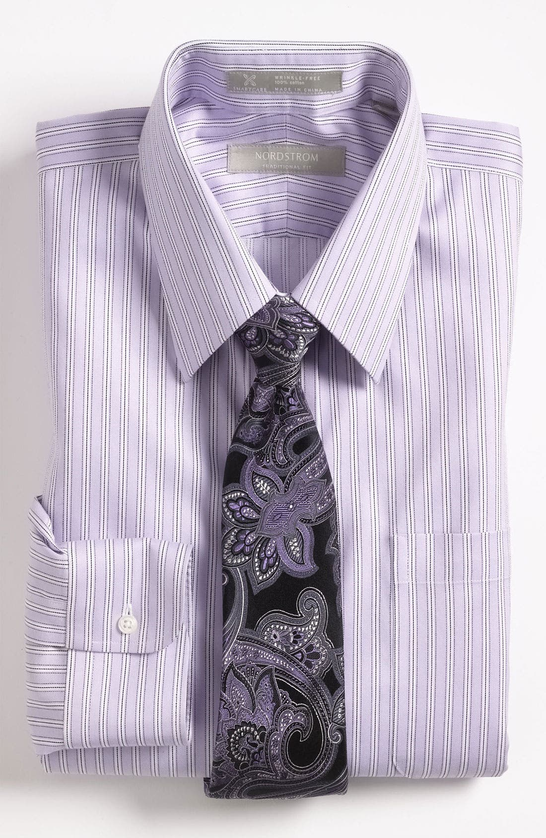 Alternate Image 3  - Nordstrom Smartcare™ Traditional Fit Dress Shirt