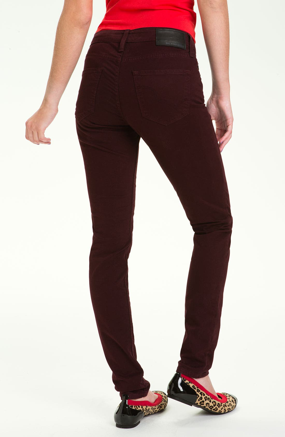 Alternate Image 1 Selected - Big Star 'Alex' Skinny Jeans (Juniors)