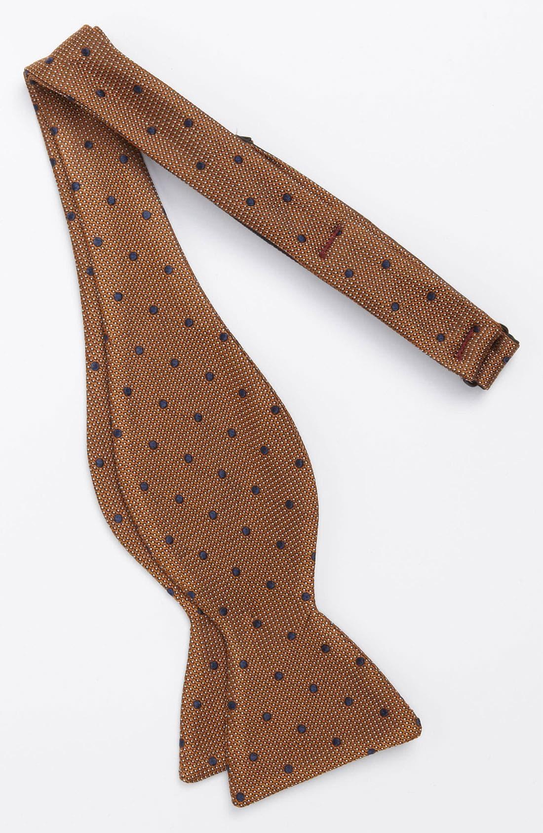 Alternate Image 2  - John W. Nordstrom® Woven Silk Bow Tie