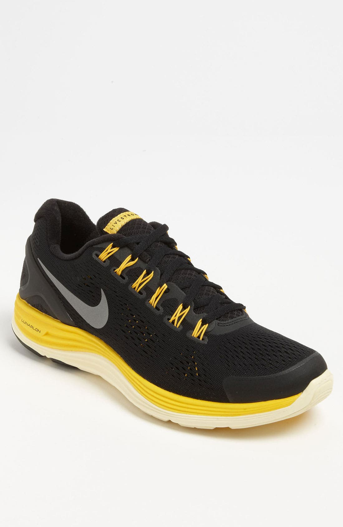 Alternate Image 1 Selected - Nike 'LIVESTRONG LunarGlide+ 4' Running Shoe (Men)
