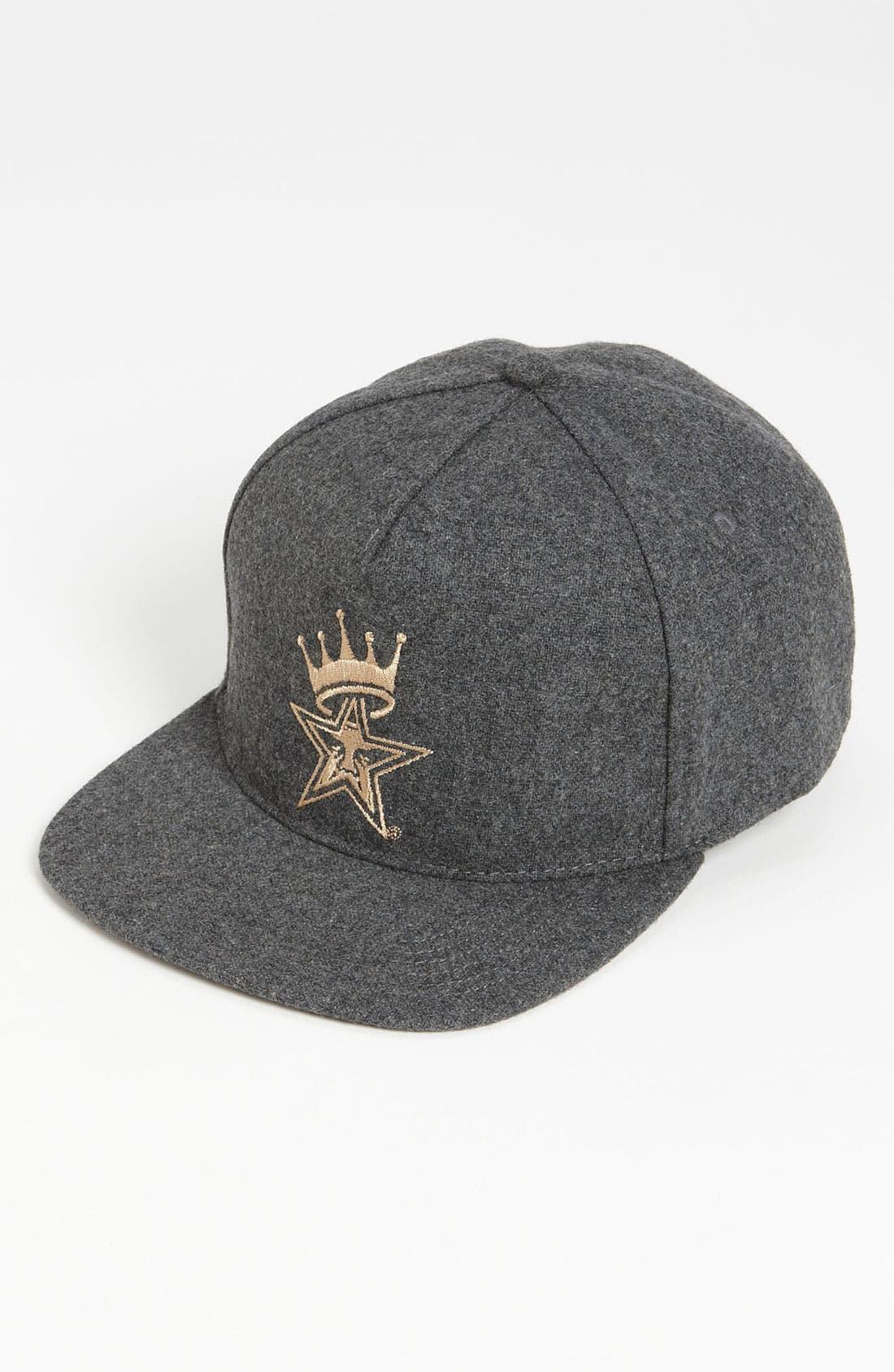 Main Image - Obey 'Crowned' Snapback Baseball Cap