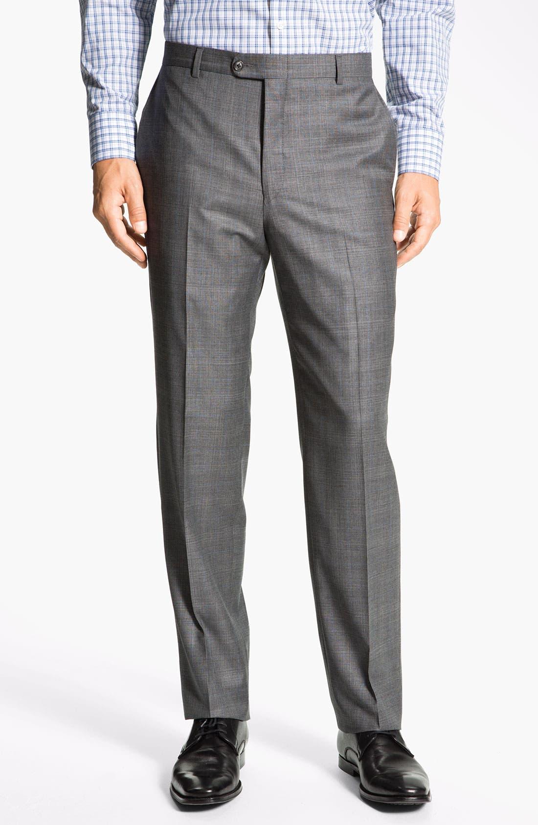 Alternate Image 4  - Hickey Freeman 'B Series' Wool Suit