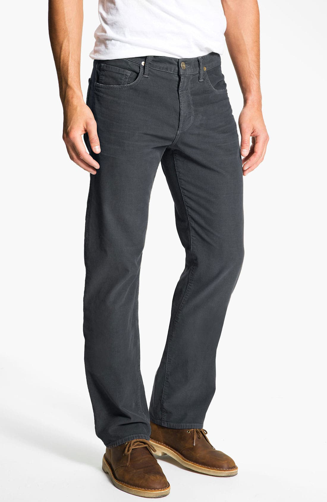 Main Image - Citizens of Humanity 'Sid' Straight Leg Corduroy Pants