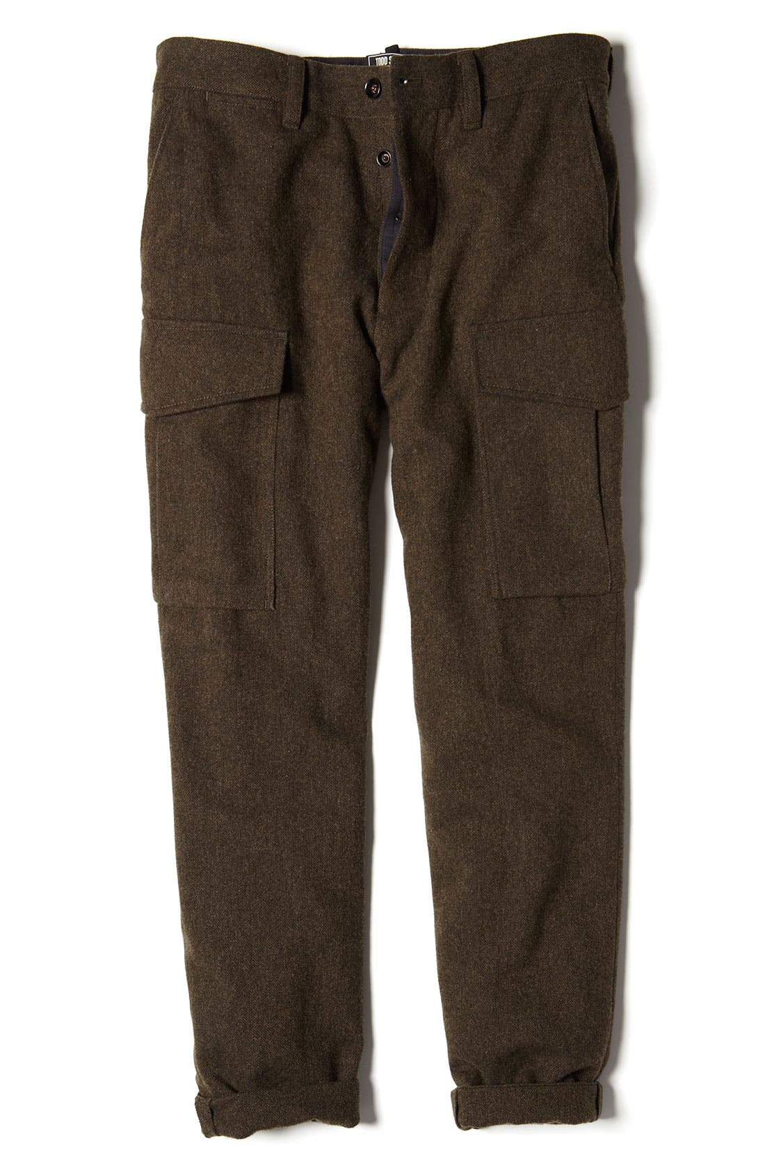 Alternate Image 5  - Todd Snyder 'Officer' Wool Cargo Pants