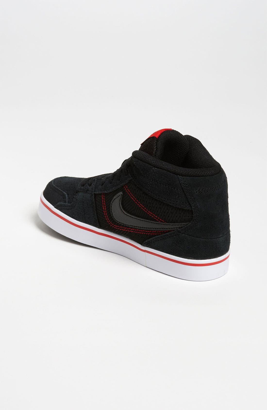 Alternate Image 2  - Nike 'Ruckus Mid Jr. 6.0' Sneaker (Toddler, Little Kid & Big Kid)