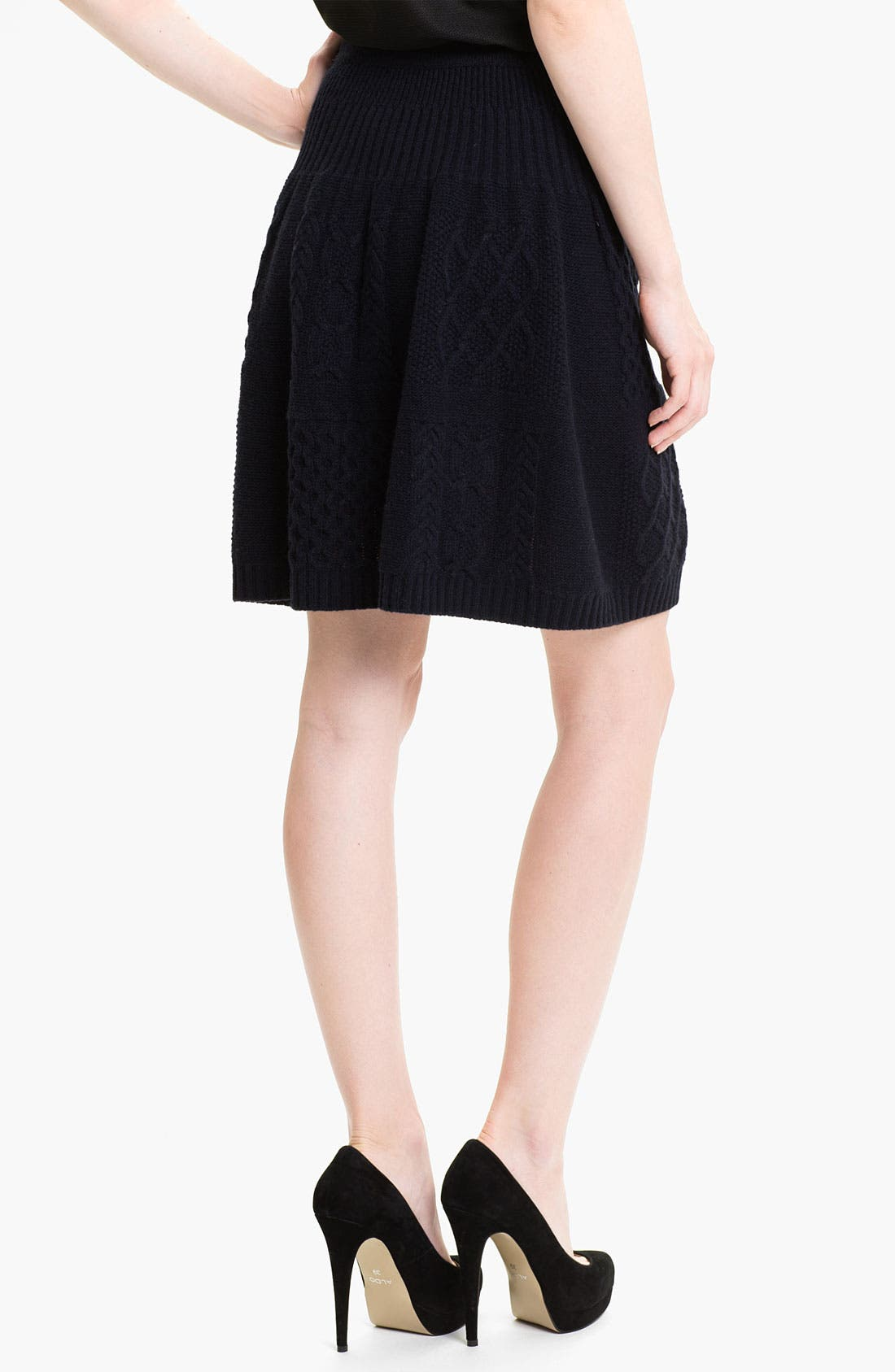 Alternate Image 2  - MARC BY MARC JACOBS 'Glenda' Cable Sweater Skirt