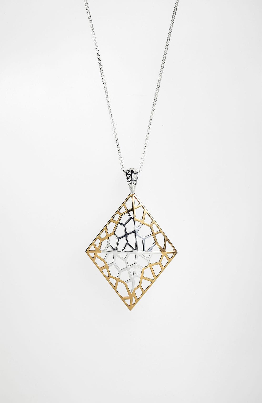 Main Image - Argento Vivo 'Prism' Long Diamond Shape Pendant Necklace