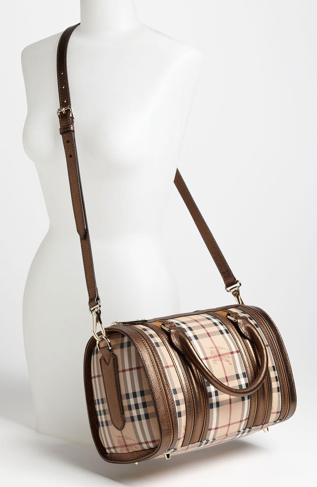 Alternate Image 2  - Burberry 'Haymarket Check' Bowling Bag
