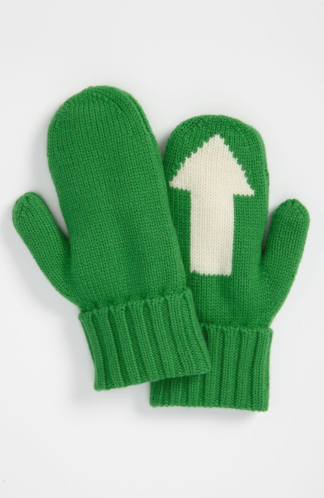 Alternate Image 3  - kate spade new york 'big apple - arrow' mittens