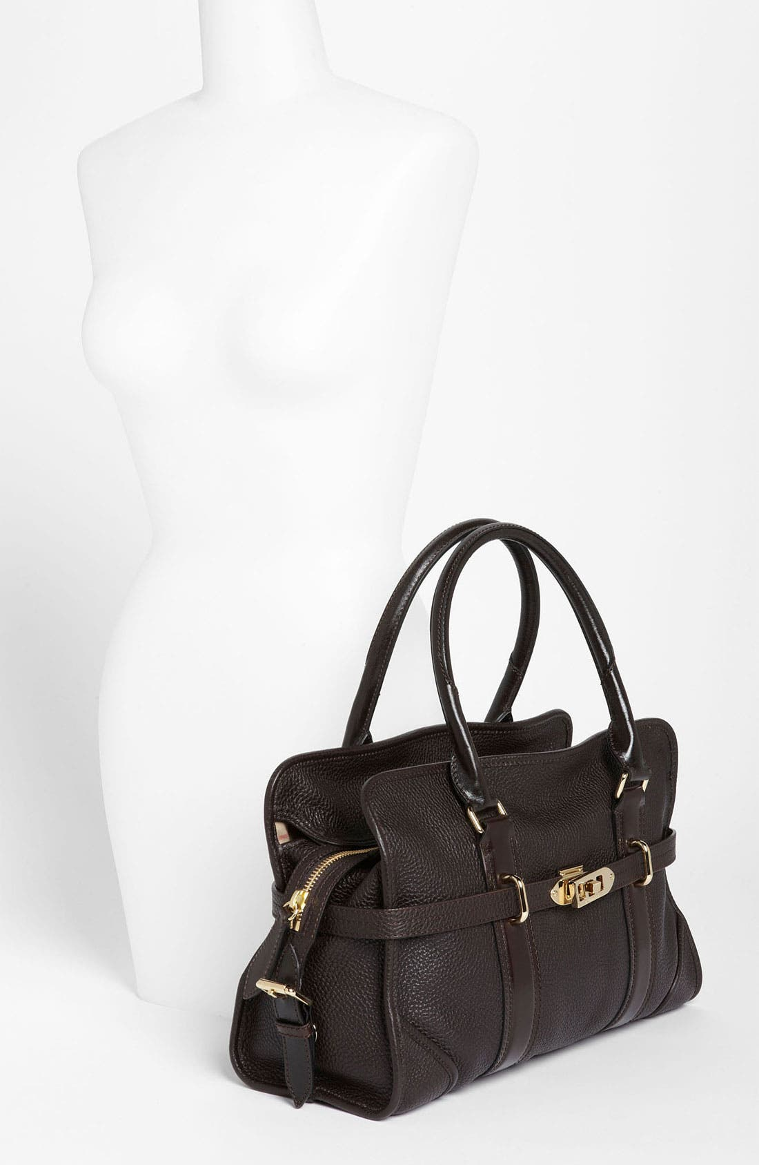 Alternate Image 2  - Burberry 'London Grainy' Leather Tote