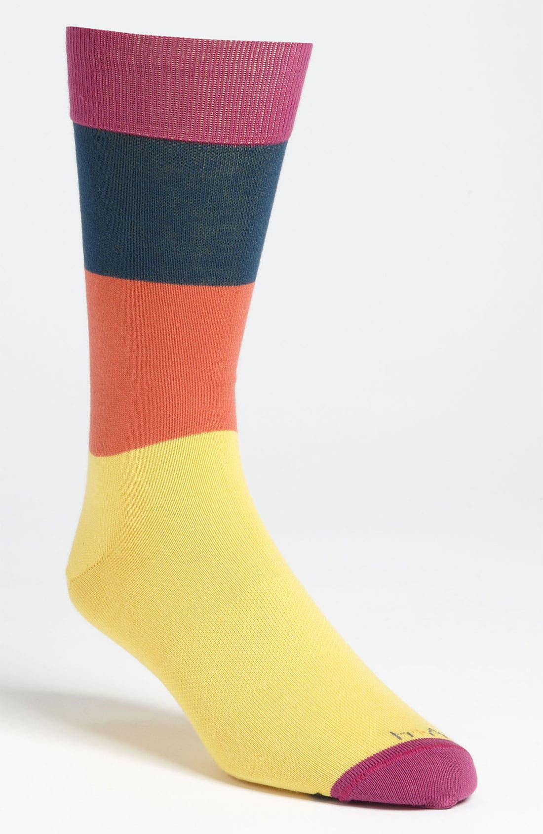 Main Image - hook + ALBERT Tiered Stripe Socks