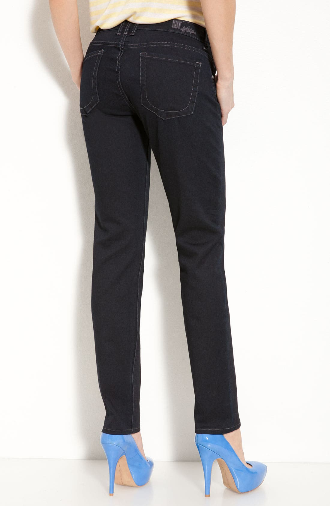 Alternate Image 2  - KUT from the Kloth 'Diana' Skinny Jeans (Delight Wash) (Online Only)