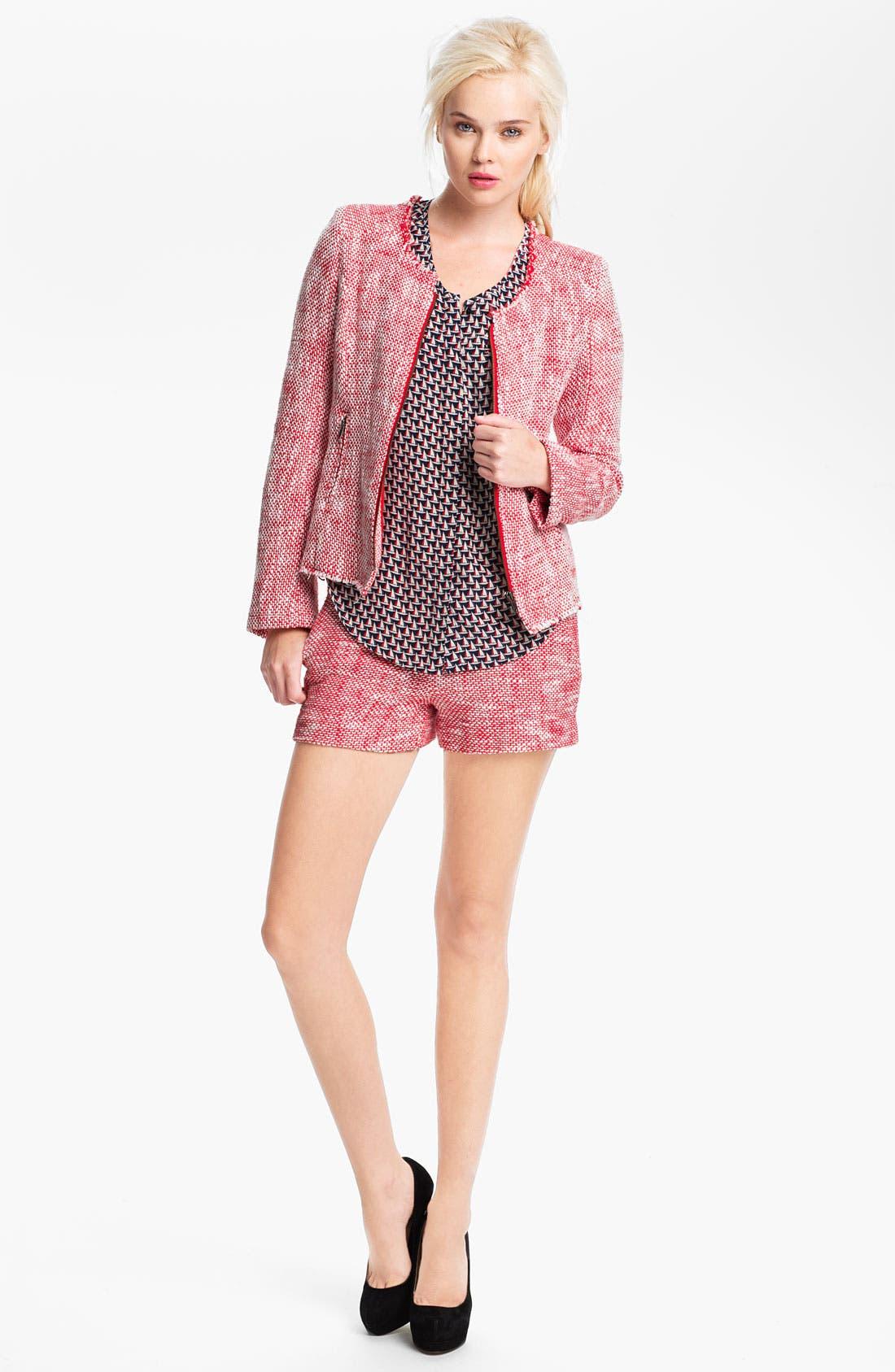 Alternate Image 4  - Joie 'Merci' Tweed Shorts