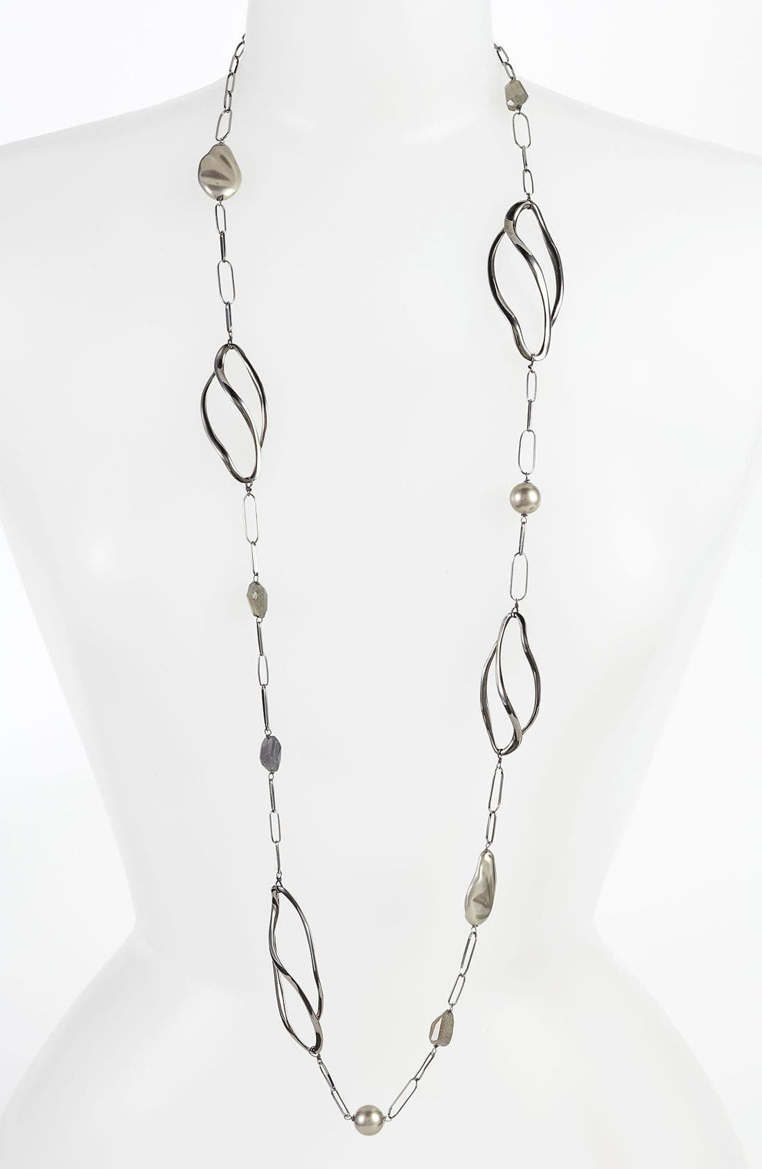 Main Image - Alexis Bittar 'Miss Havisham - Liquid' Linked Station Necklace (Nordstrom Exclusive)