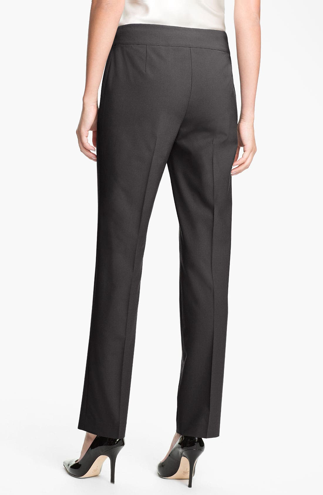Alternate Image 2  - Lafayette 148 New York 'Downing' Pants