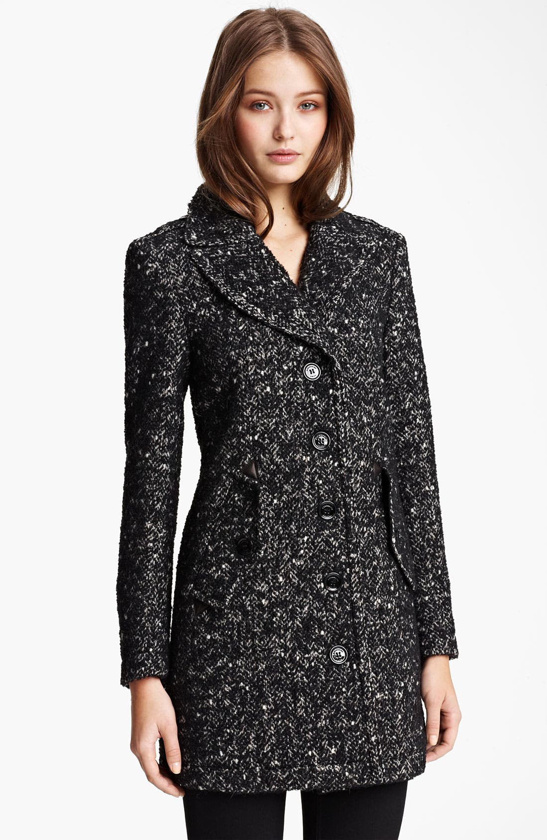 Main Image - Burberry Brit Wool Blend Coat