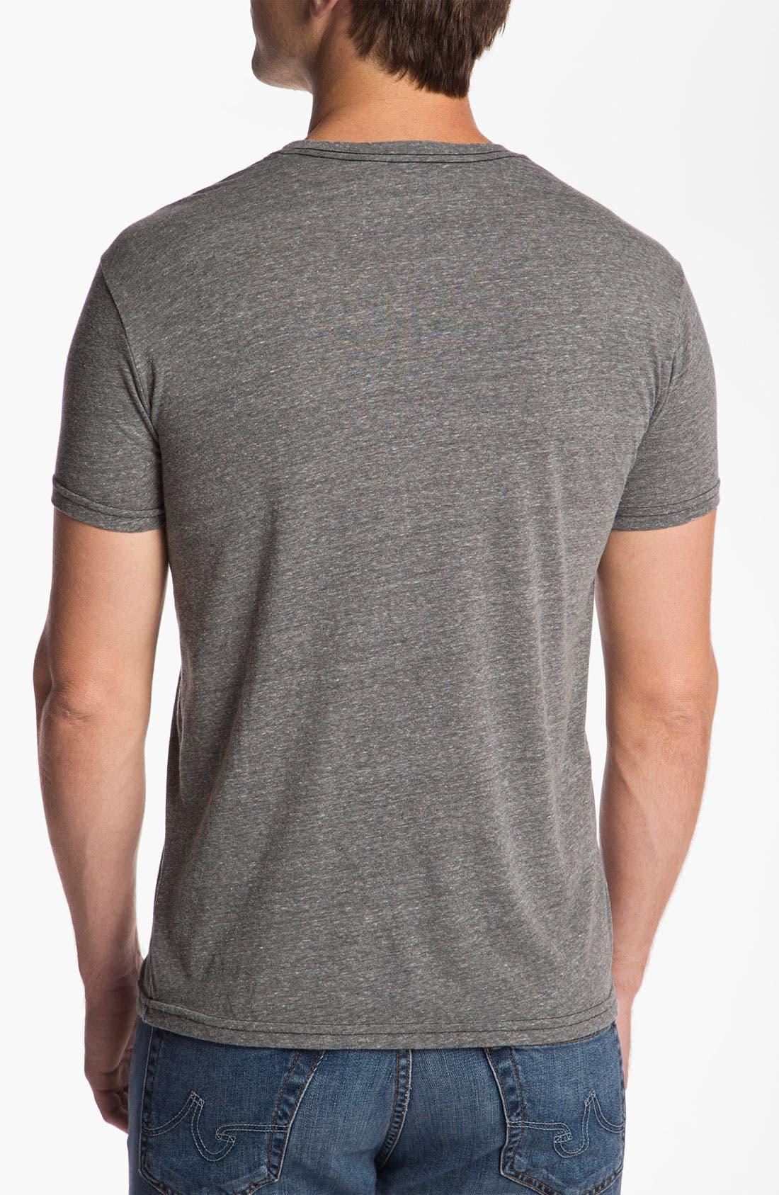 Alternate Image 2  - The Original Retro Brand 'Missouri Tigers - Stitch' T-Shirt