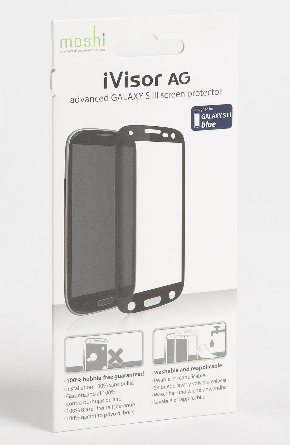 Alternate Image 1 Selected - Moshi 'iVisor AG' Galaxy S® III Screen Protector
