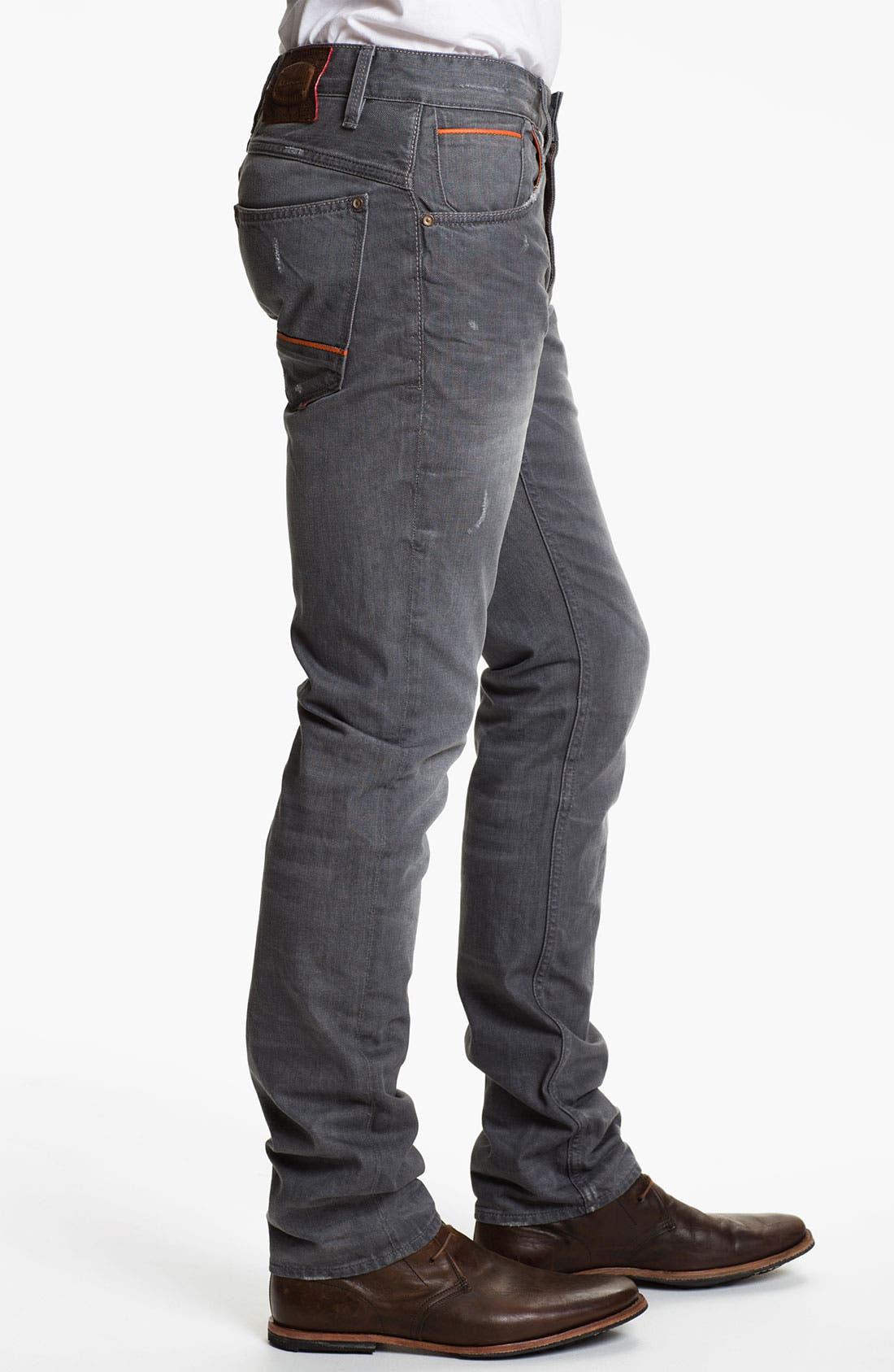 Alternate Image 3  - Robert Graham Jeans 'Grey Day' Slim Straight Leg Jeans (Grey)