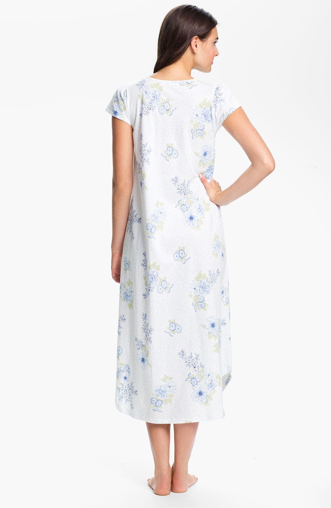 Alternate Image 2  - Carole Hochman Designs Cotton Jersey Nightgown