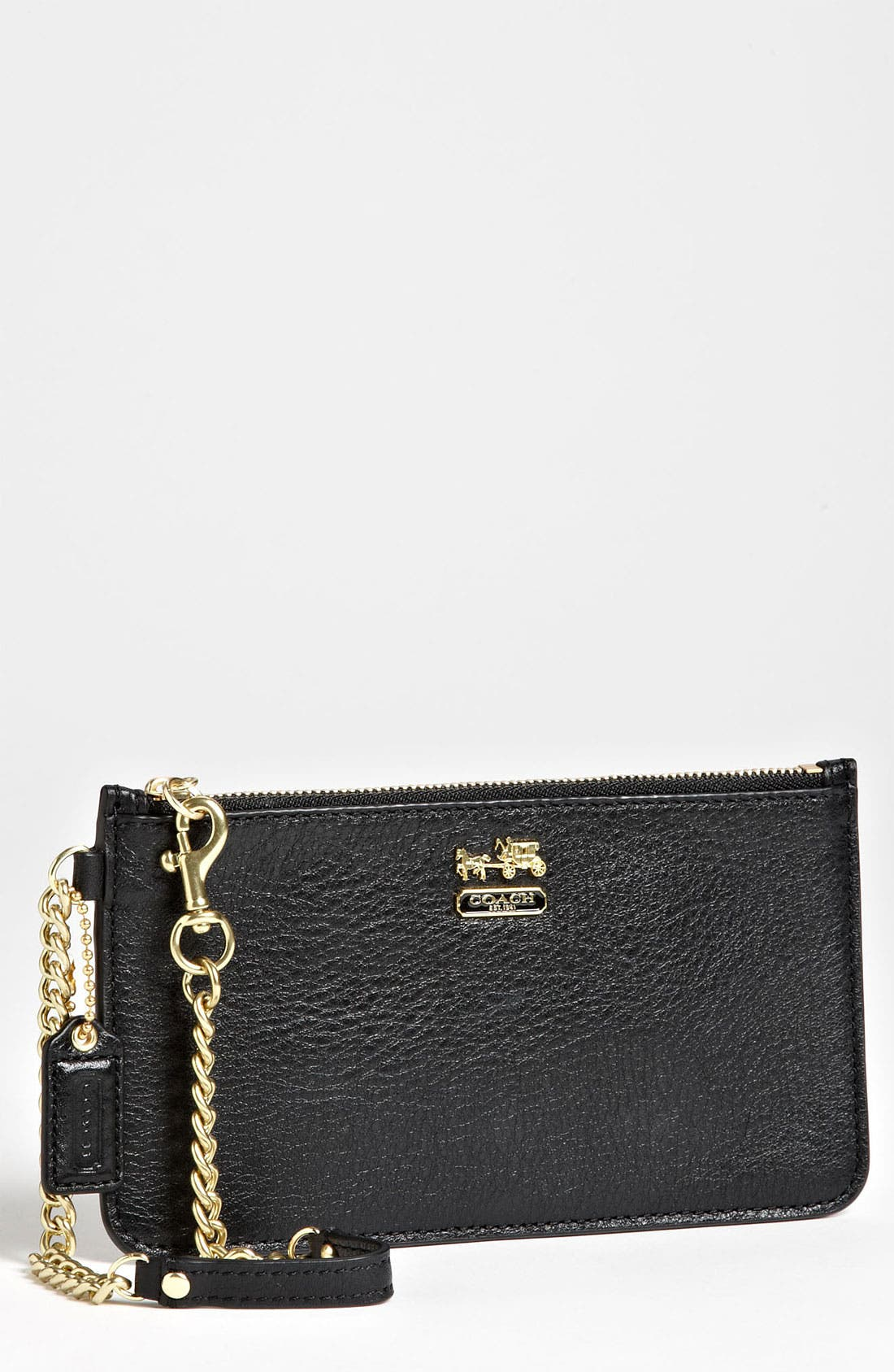 Alternate Image 1 Selected - COACH 'Madison' Leather Wristlet