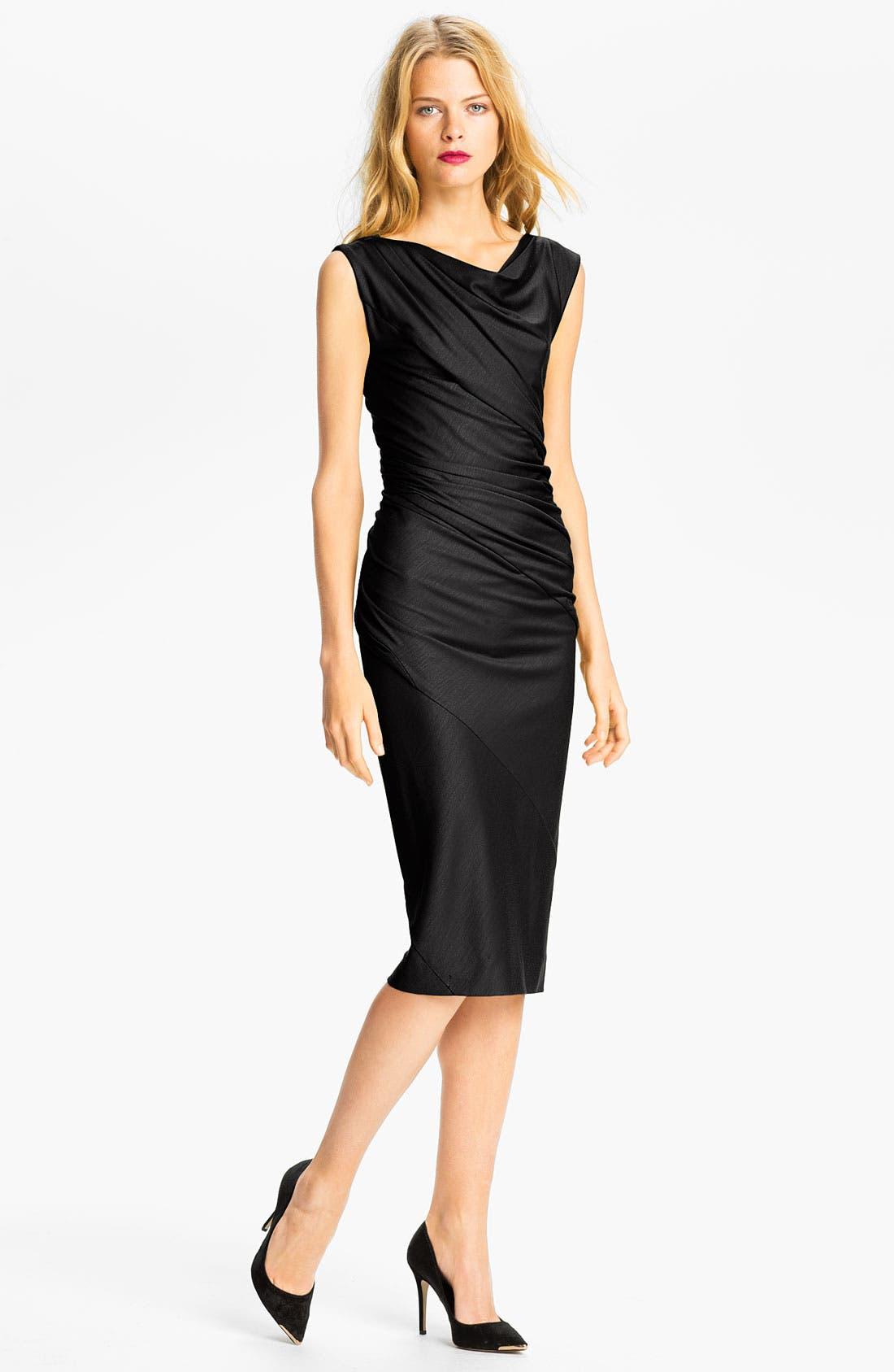 Main Image - Diane von Furstenberg 'Gloria' Wool Midi Dress (Online Exclusive)