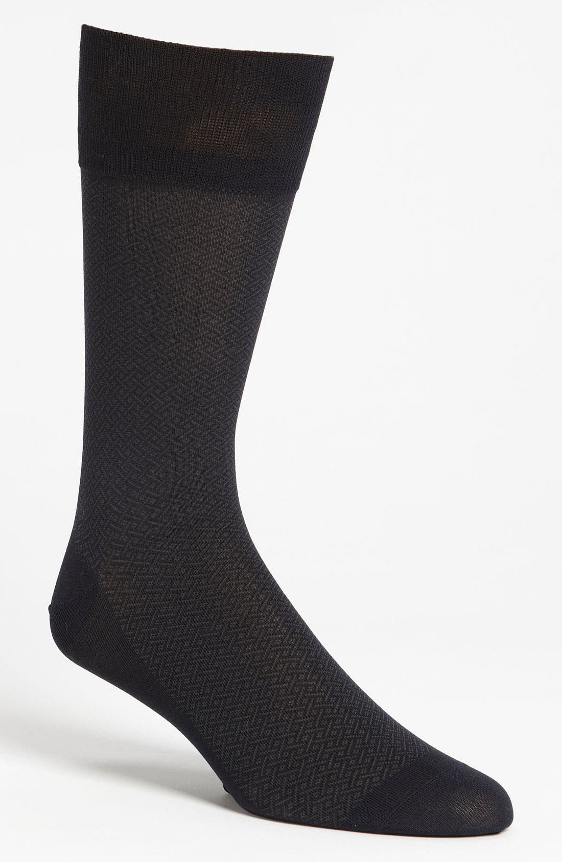 Alternate Image 1 Selected - John W. Nordstrom® Basket Weave Socks