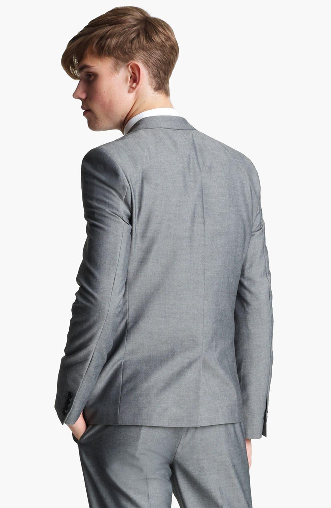 Alternate Image 2  - Topman 'Nottingham' Skinny Suit Jacket