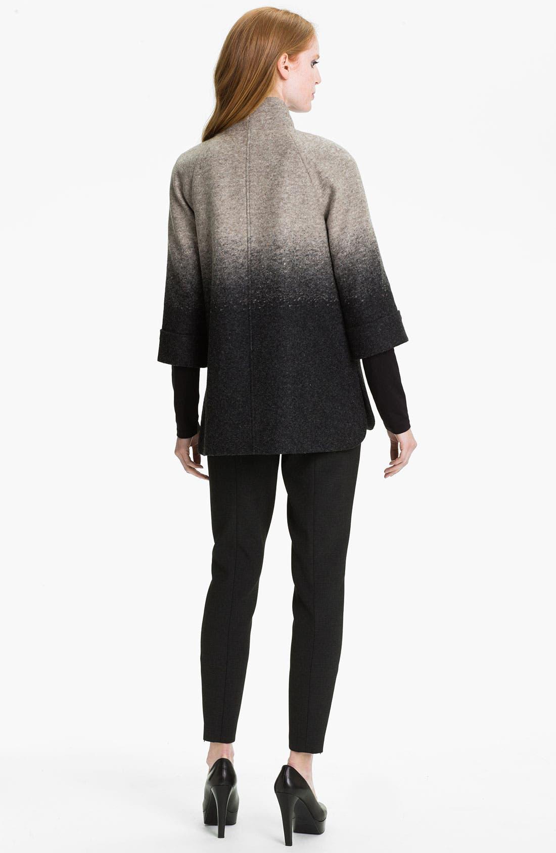 Alternate Image 5  - Nordstrom Collection 'Penelope' Ombré A-Line Jacket