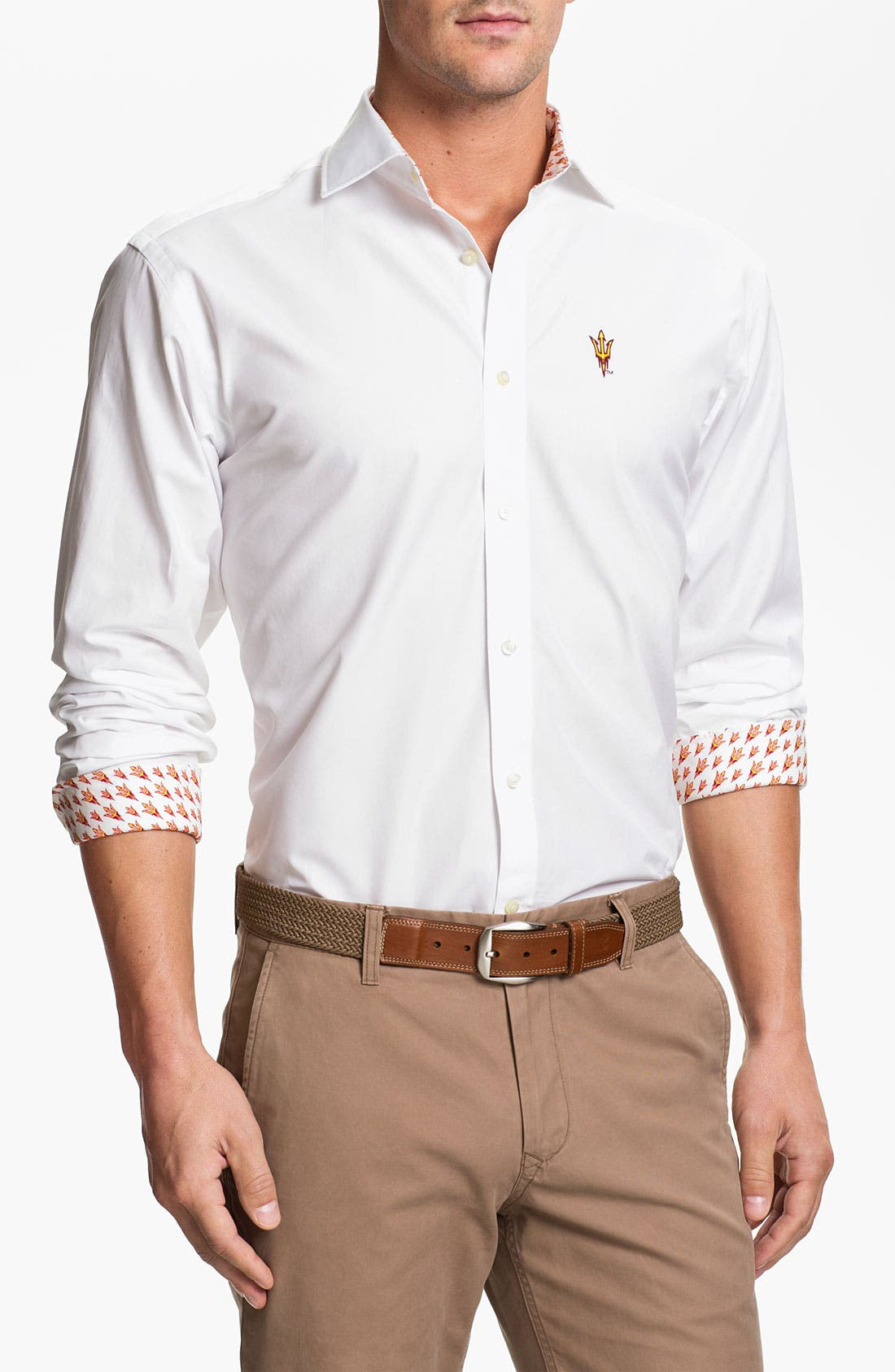 Alternate Image 1 Selected - Thomas Dean 'Arizona State' Sport Shirt