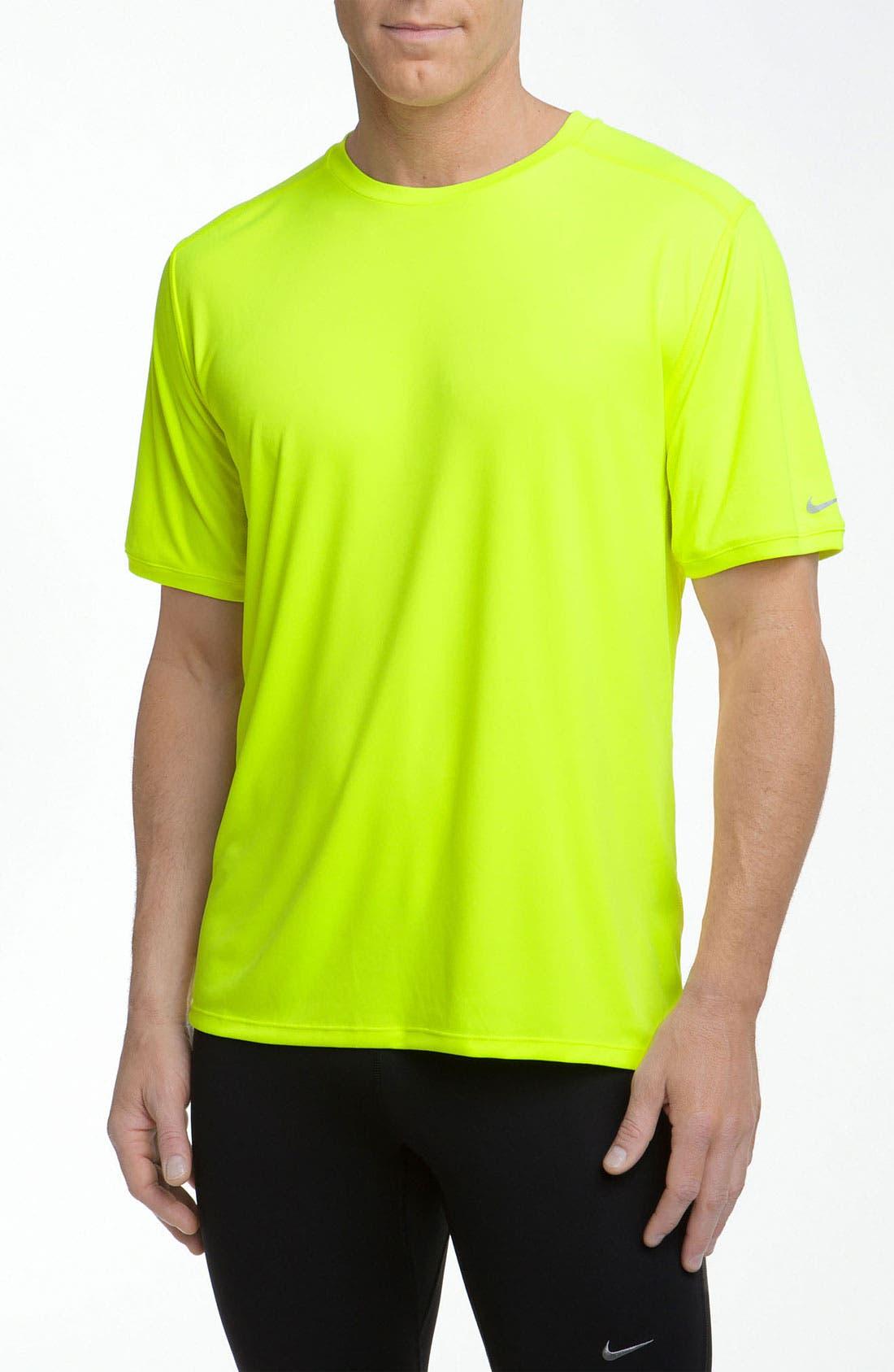 Alternate Image 1 Selected - Nike 'Relay' Dri-FIT T-Shirt