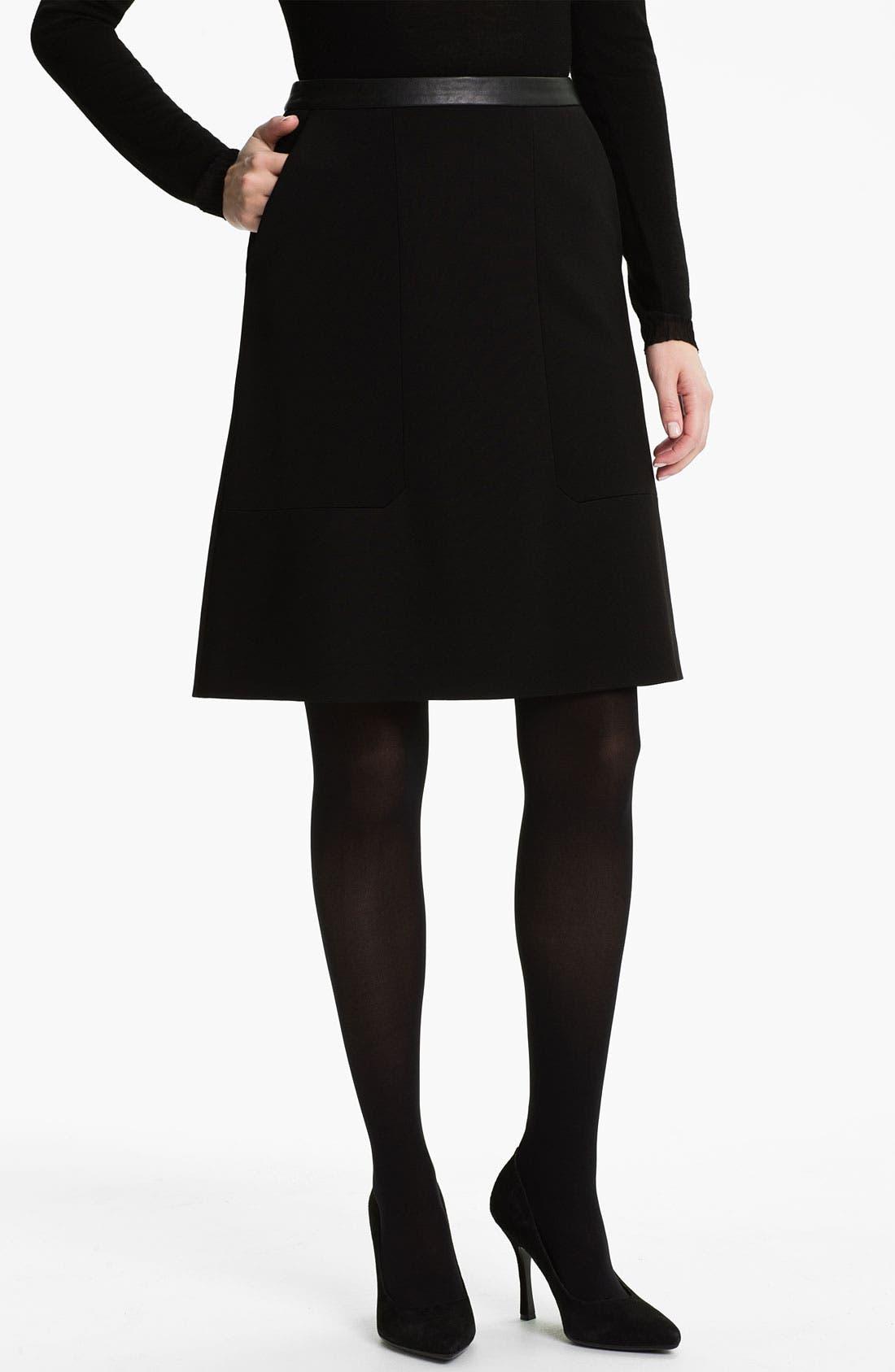 Alternate Image 1 Selected - BOSS Black 'Meredis' Skirt