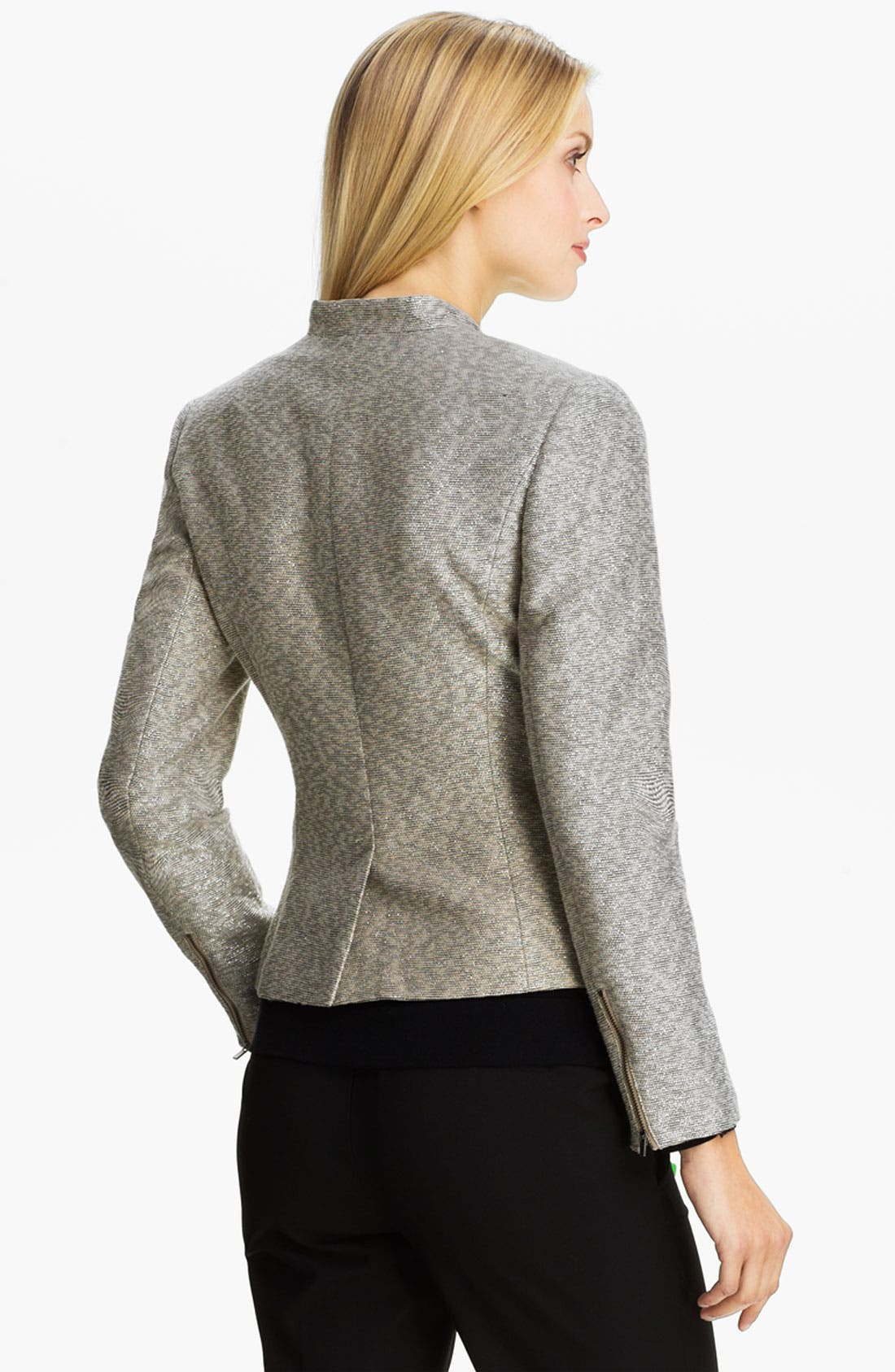 Alternate Image 2  - Classiques Entier® Metallic Weave Jacket