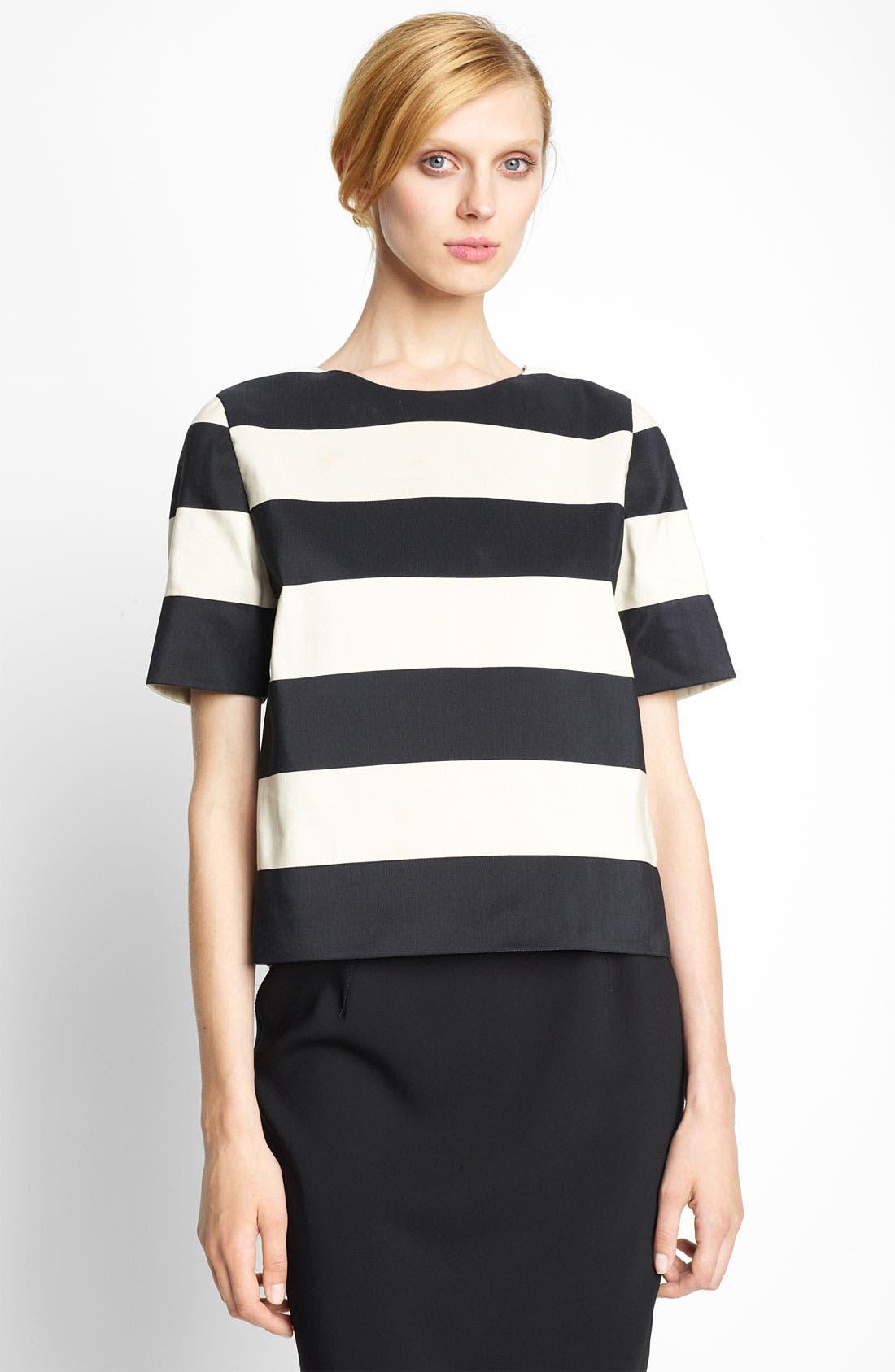 Alternate Image 1 Selected - Lanvin Stripe Cotton Top