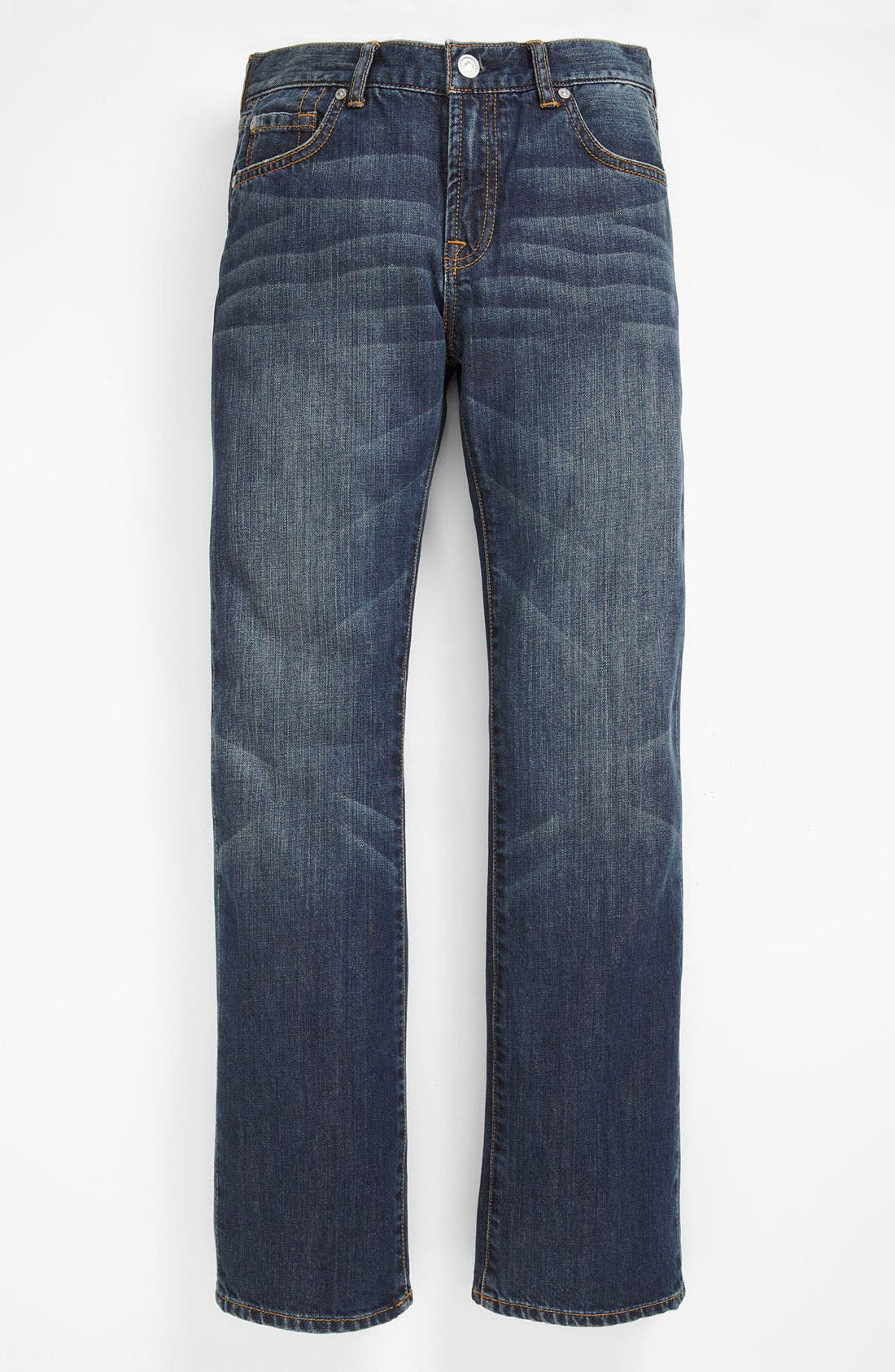 Alternate Image 2  - 7 For All Mankind® 'Standard' Straight Leg Jeans (Big Boys)