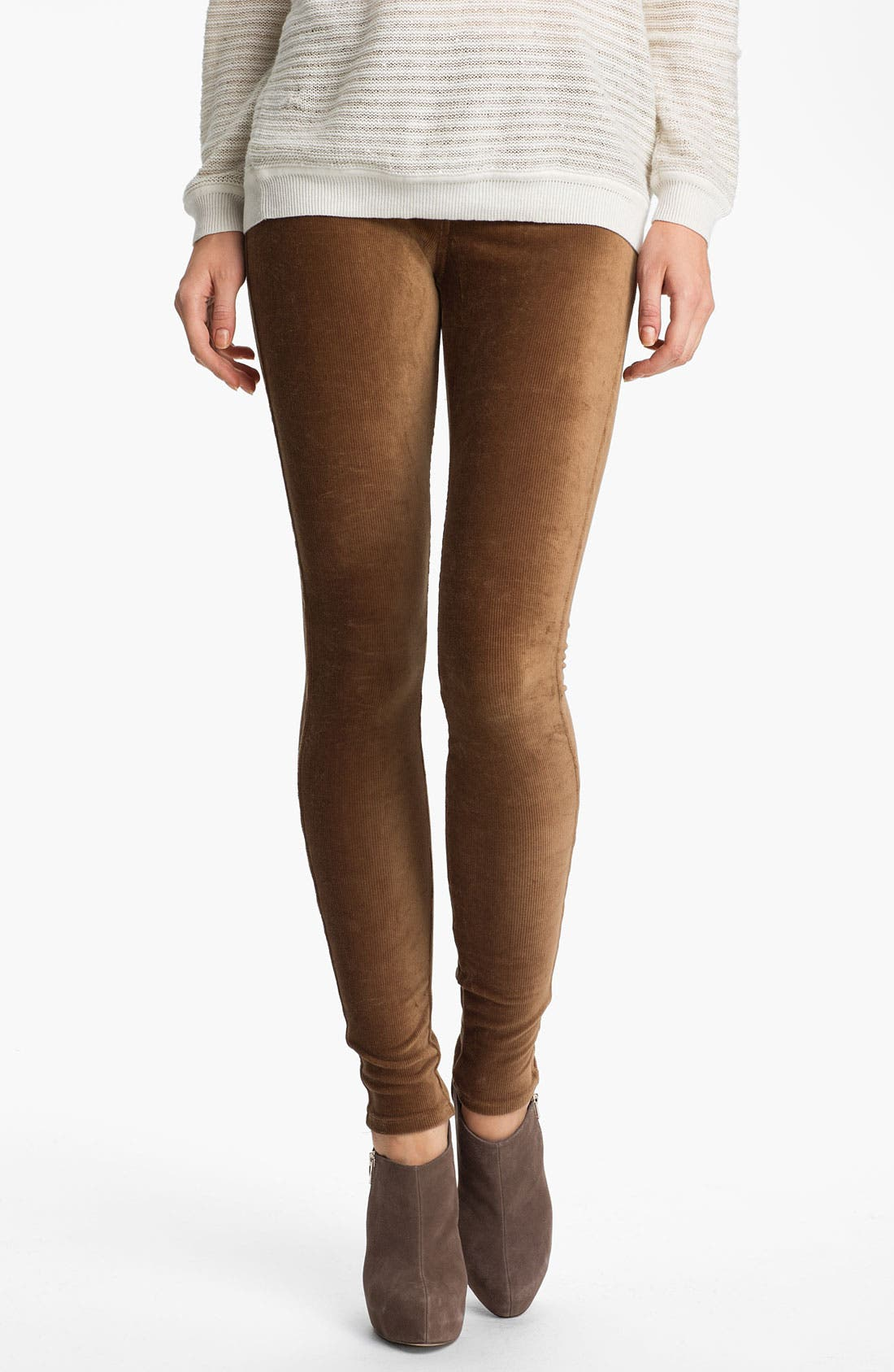 Alternate Image 1 Selected - Hue Corduroy Leggings