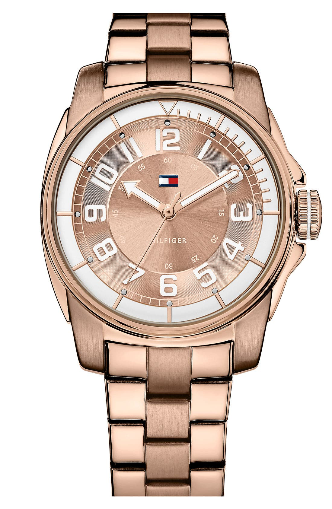 Main Image - Tommy Hilfiger Round Bracelet Watch, 38mm
