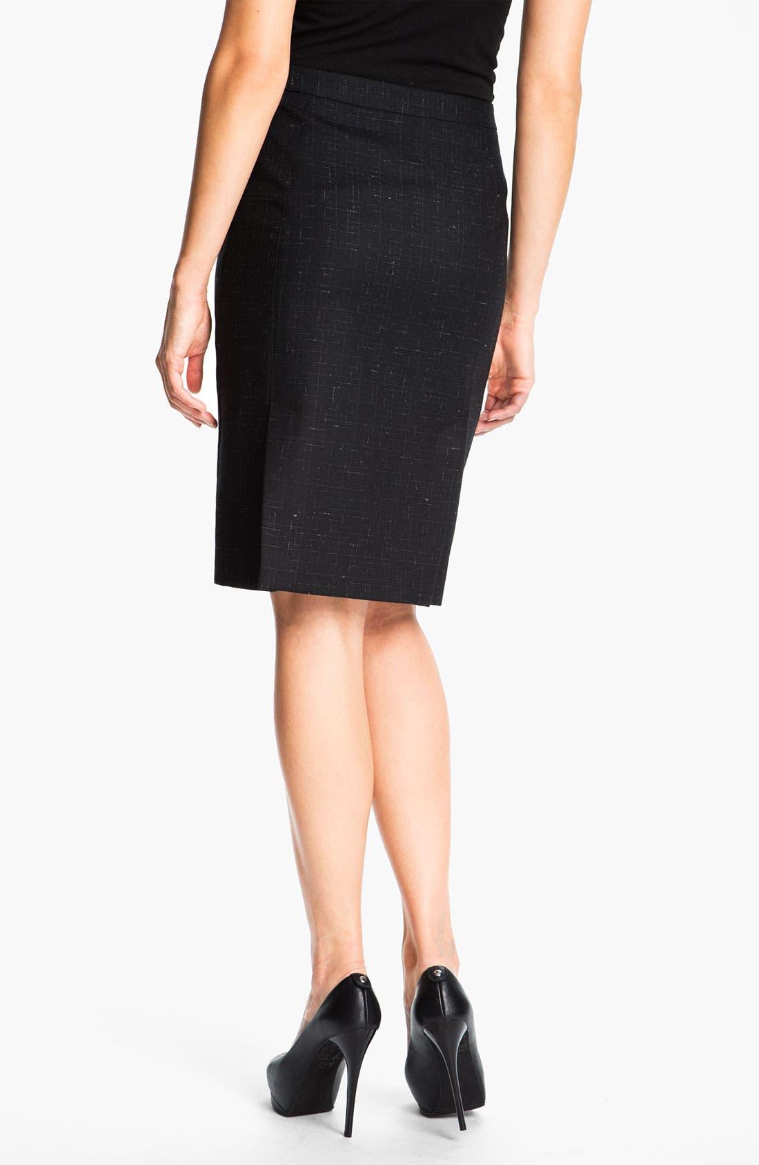 Alternate Image 2  - Zanella 'Carol' Wool Skirt