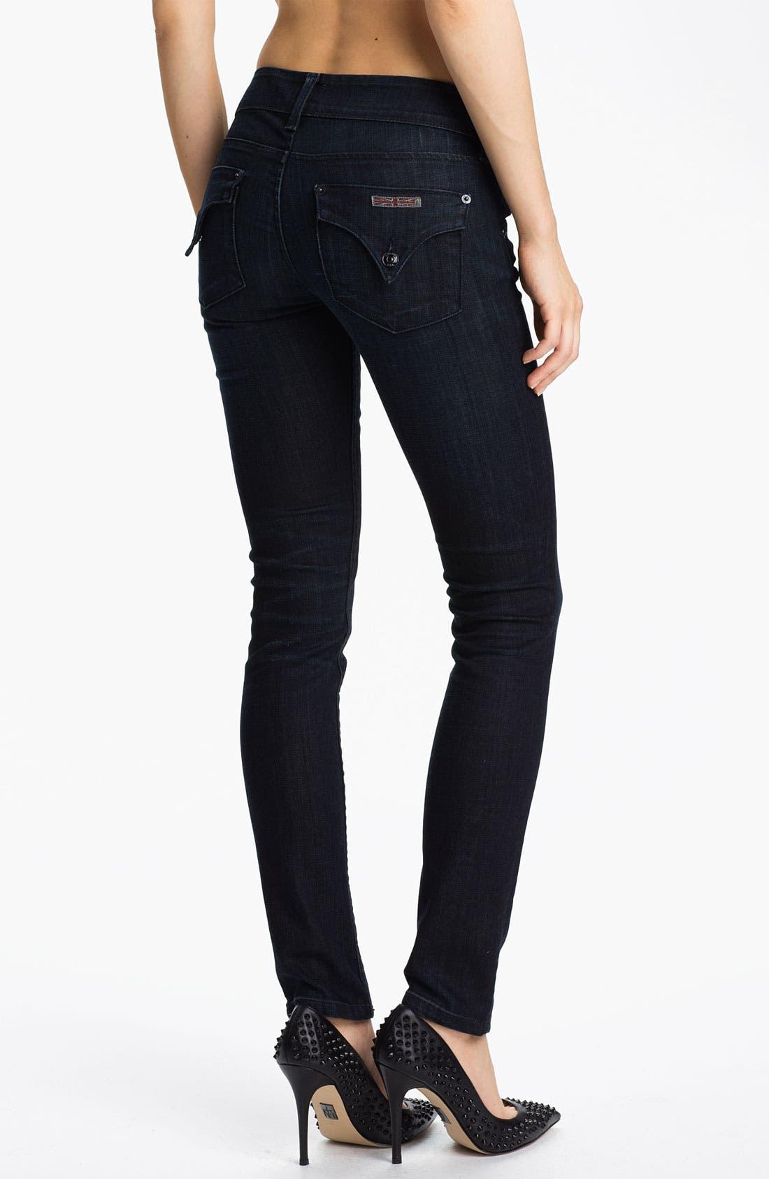 Alternate Image 2  - Hudson Jeans Skinny Stretch Jeans (Cale)