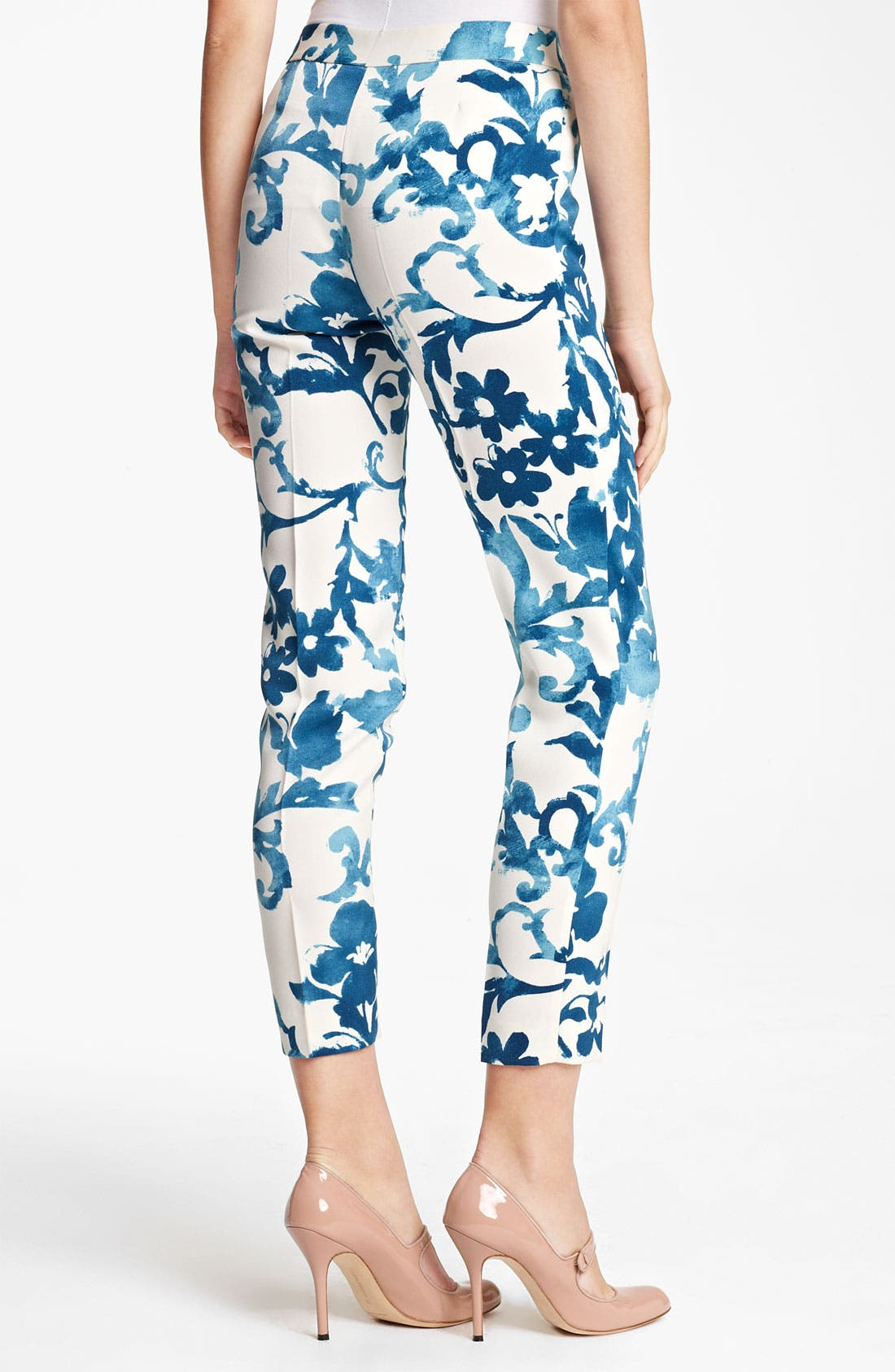 Alternate Image 2  - Moschino Cheap & Chic English Pottery Print Pants