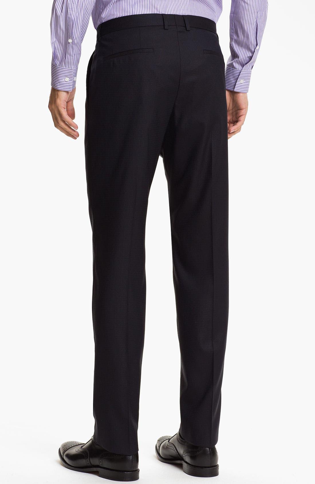 Alternate Image 5  - HUGO 'Aeron/Hamen' Extra Trim Fit Suit